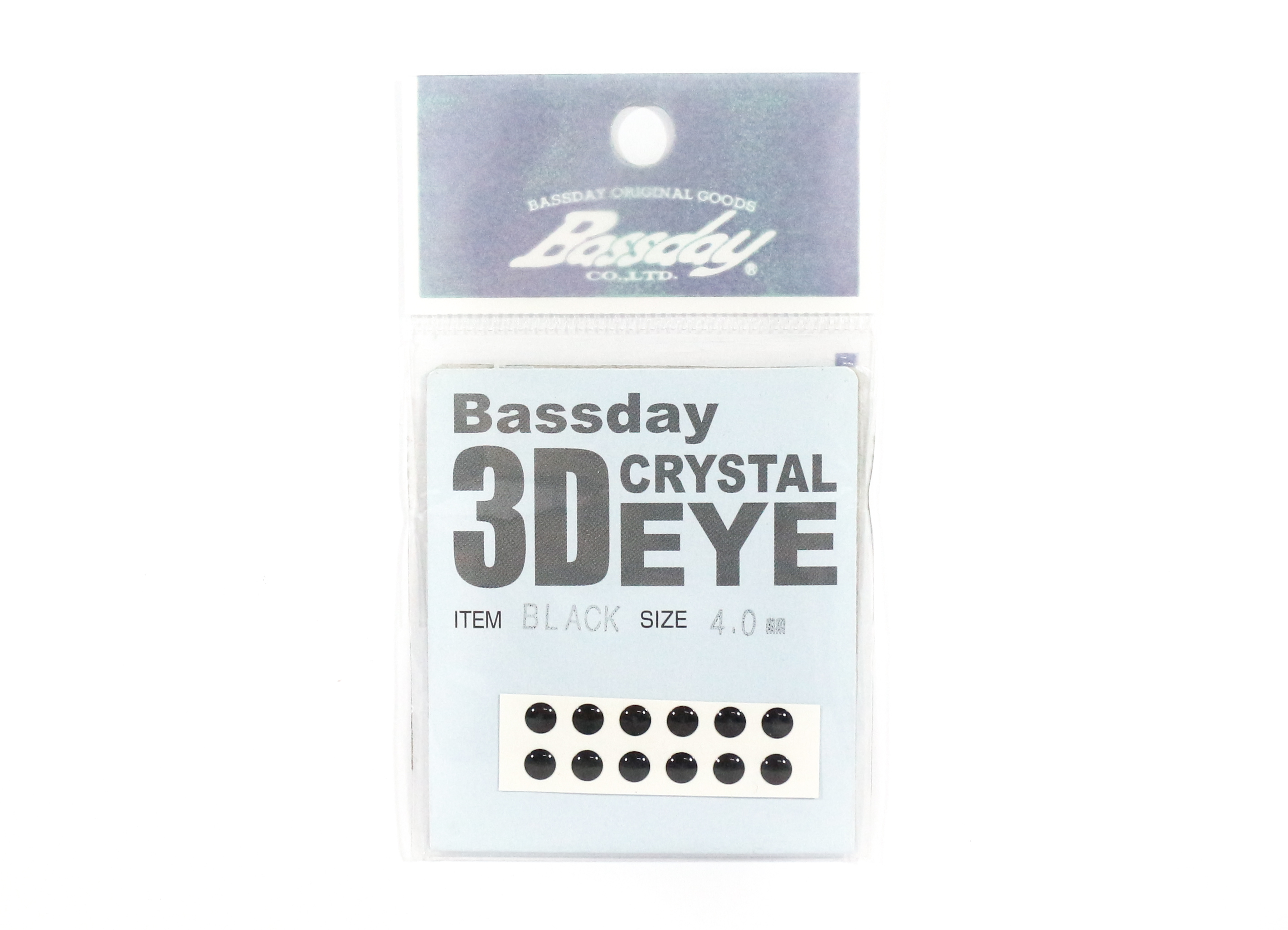 Bassday Live Eye Accessory Diameter 4mm Black (8238)