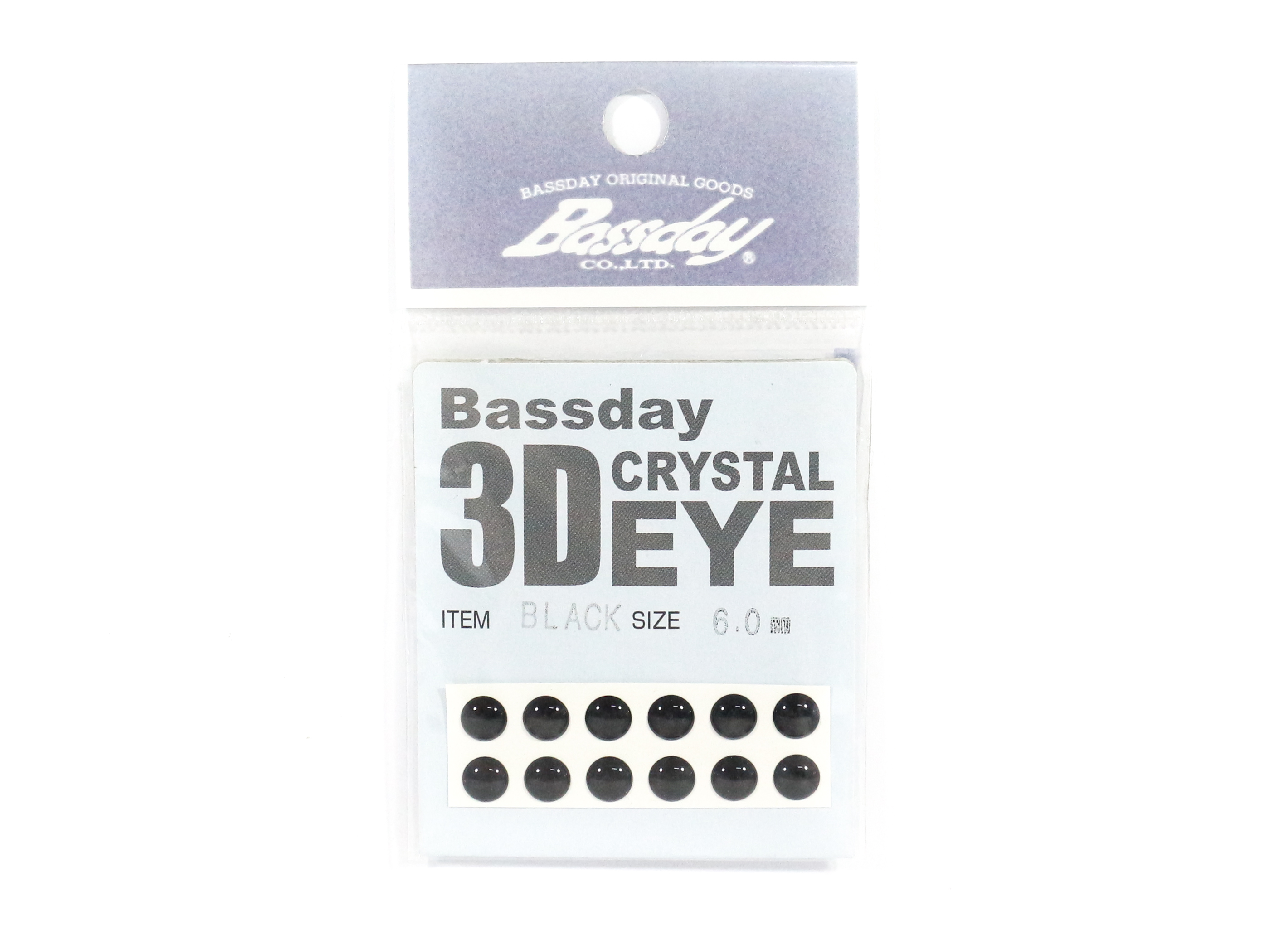Bassday Live Eye Accessory Diameter 6mm Black (8252)