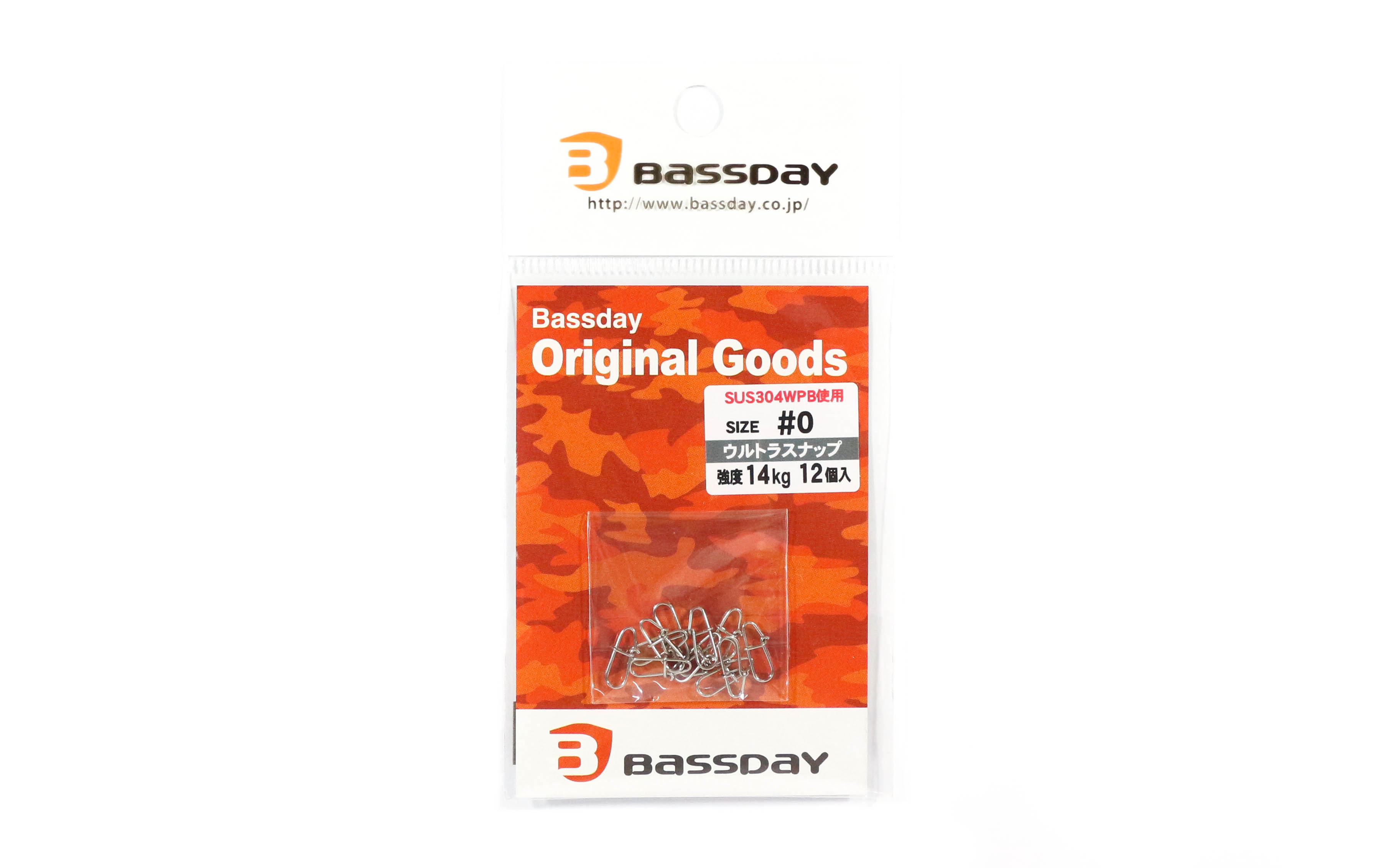 Bassday Ultra Snap Strong Stainless Steel Size 0 (5434)