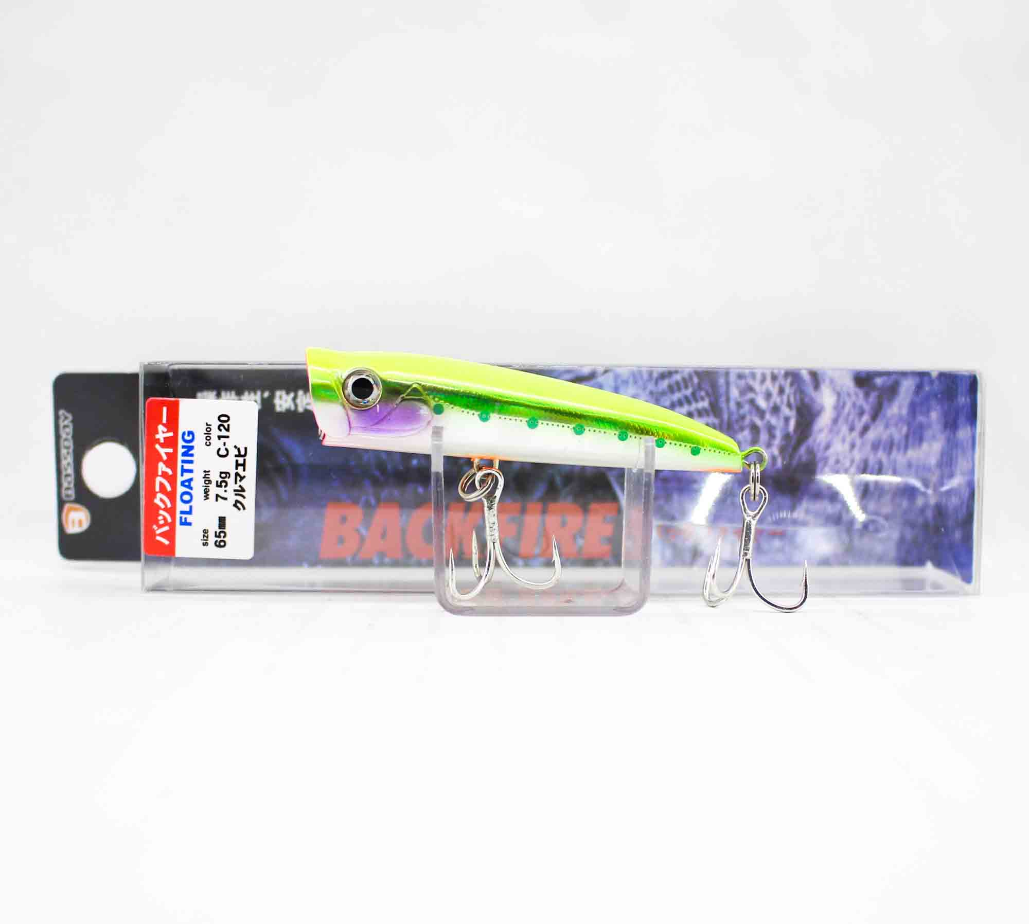 Bassday Backfire Popper Floating Lure WH-371 (9421)