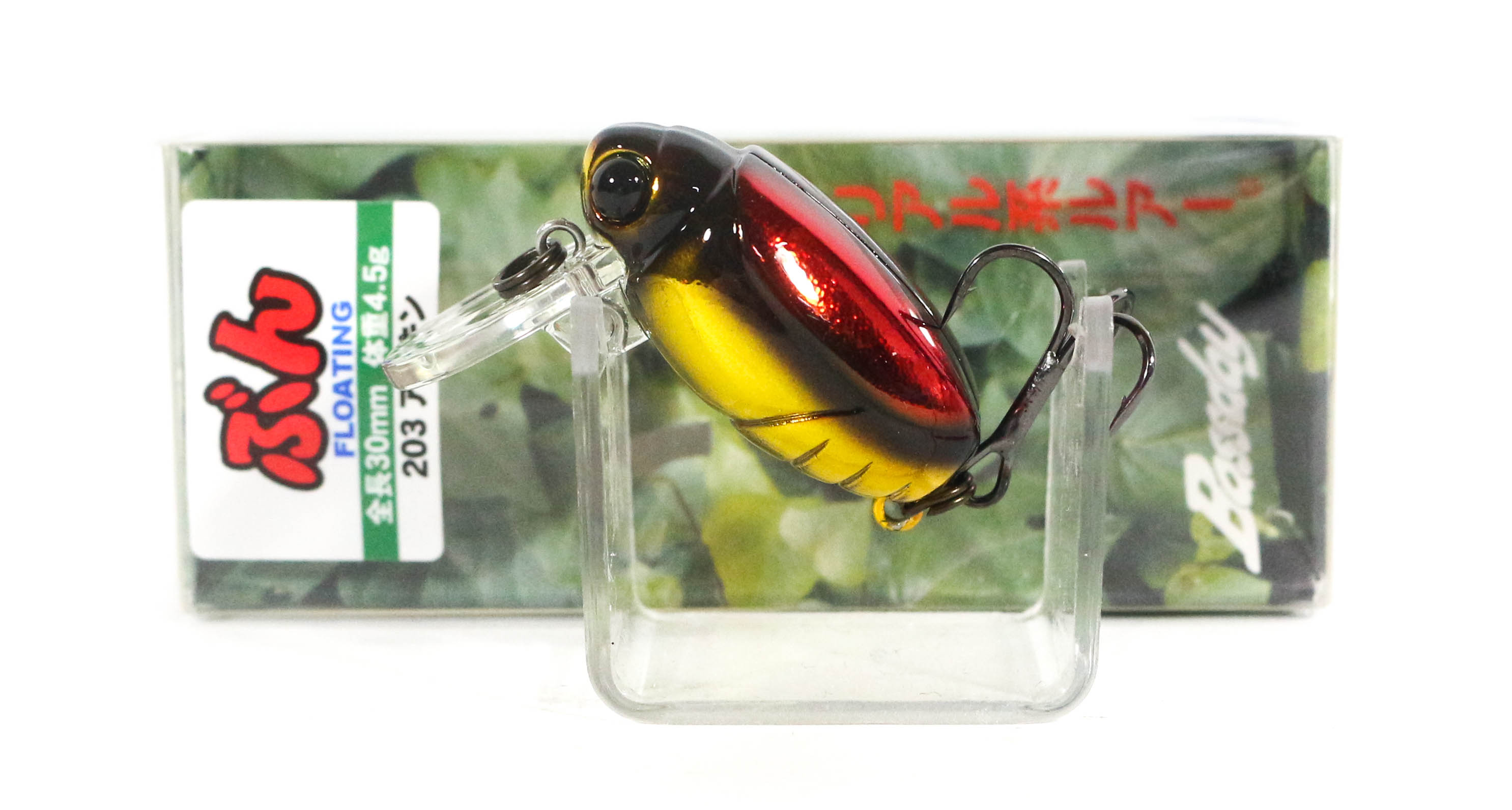 Bassday Beetle Bun 30F Floating Lure 4.5 grams 203 (3105)