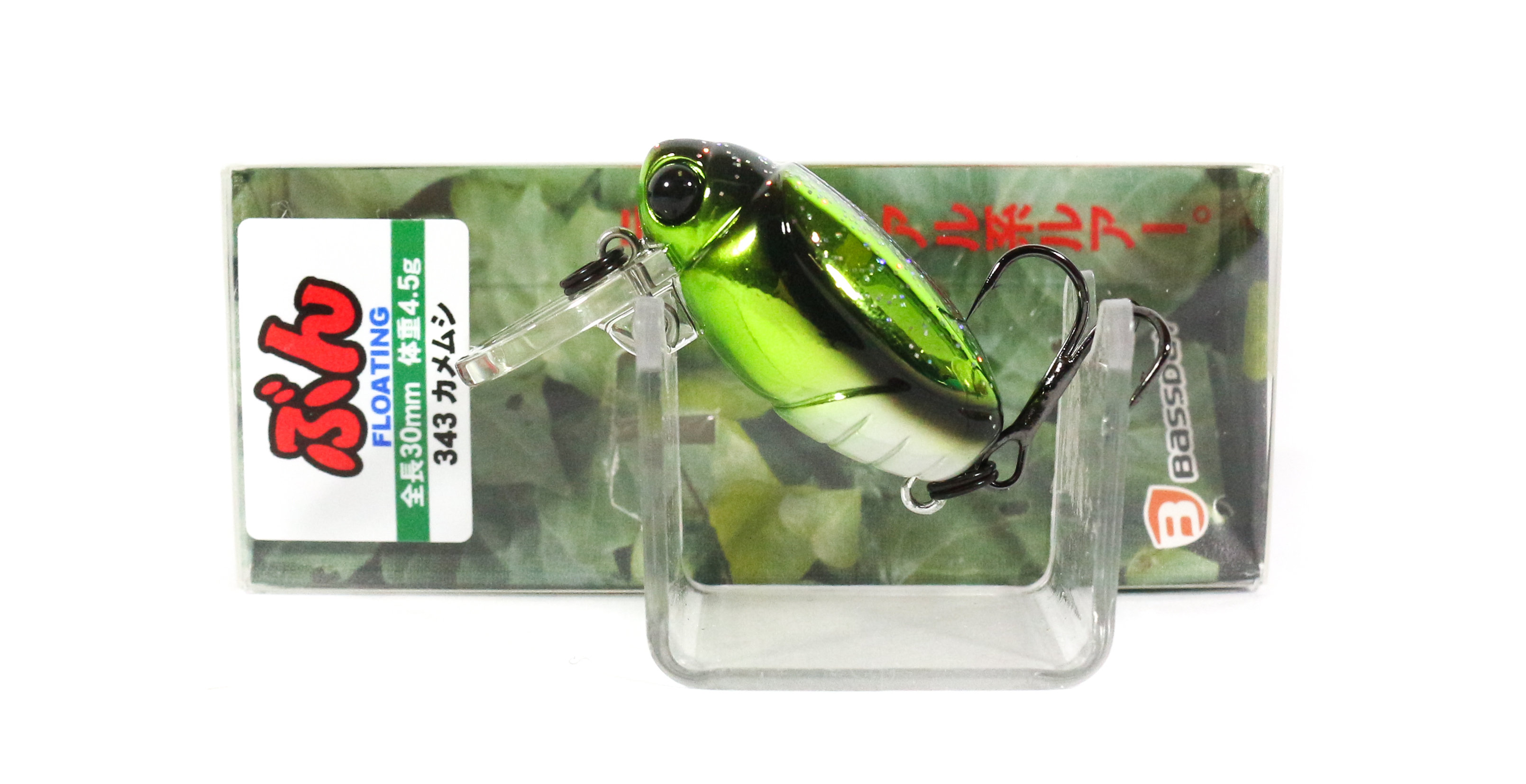 Bassday Beetle Bun 30F Floating Lure 4.5 grams 343 (3396)