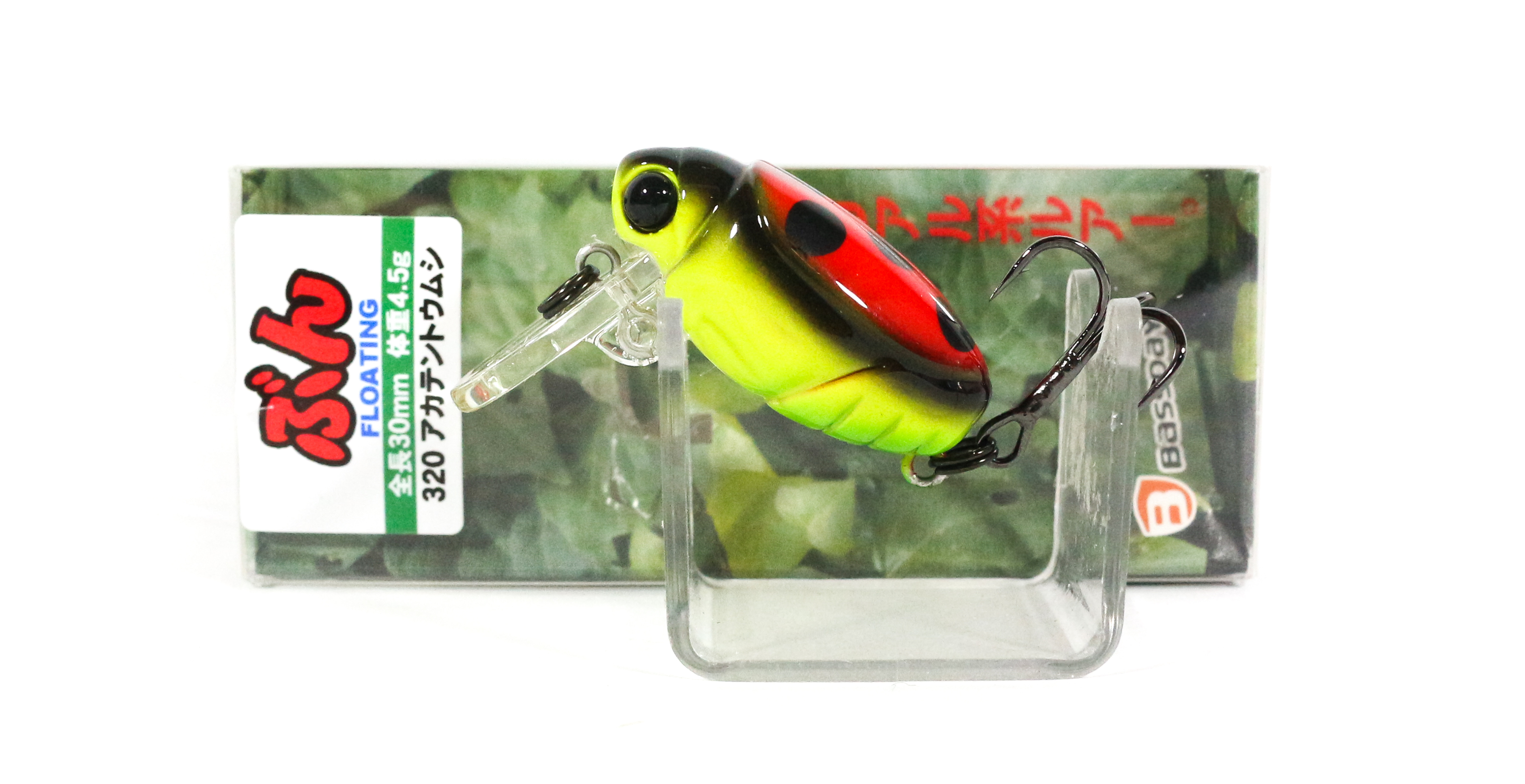 Bassday Beetle Bun 30F Floating Lure 4.5 grams 320 (3426)