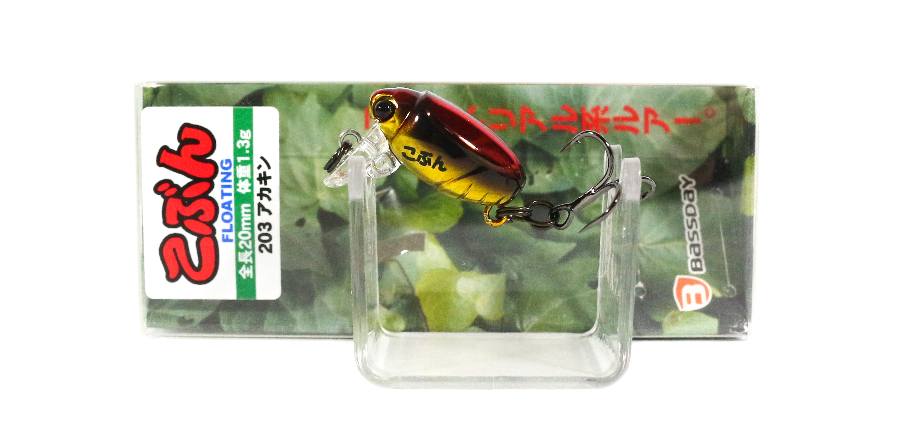 Bassday Beetle Kobun Floating Lure 1.3 grams 203 (4017)