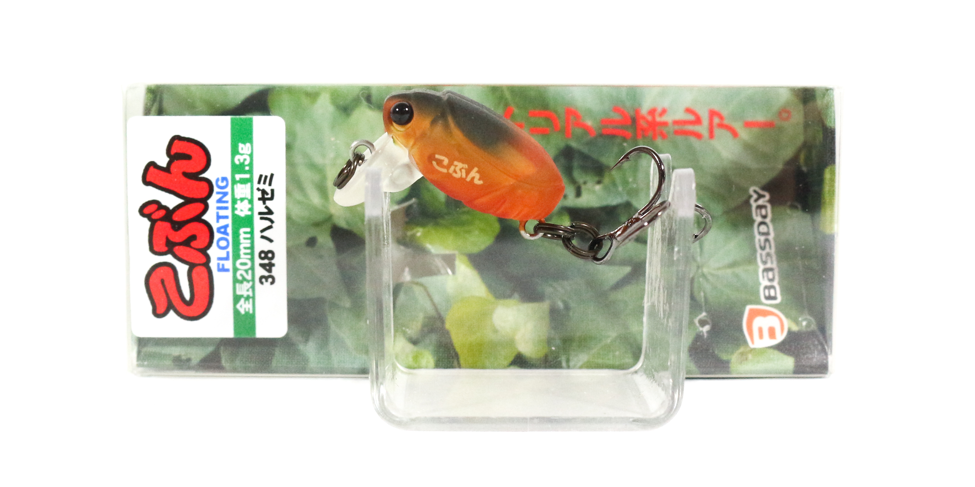 Bassday Beetle Kobun Floating Lure 1.3 grams 348 (4284)