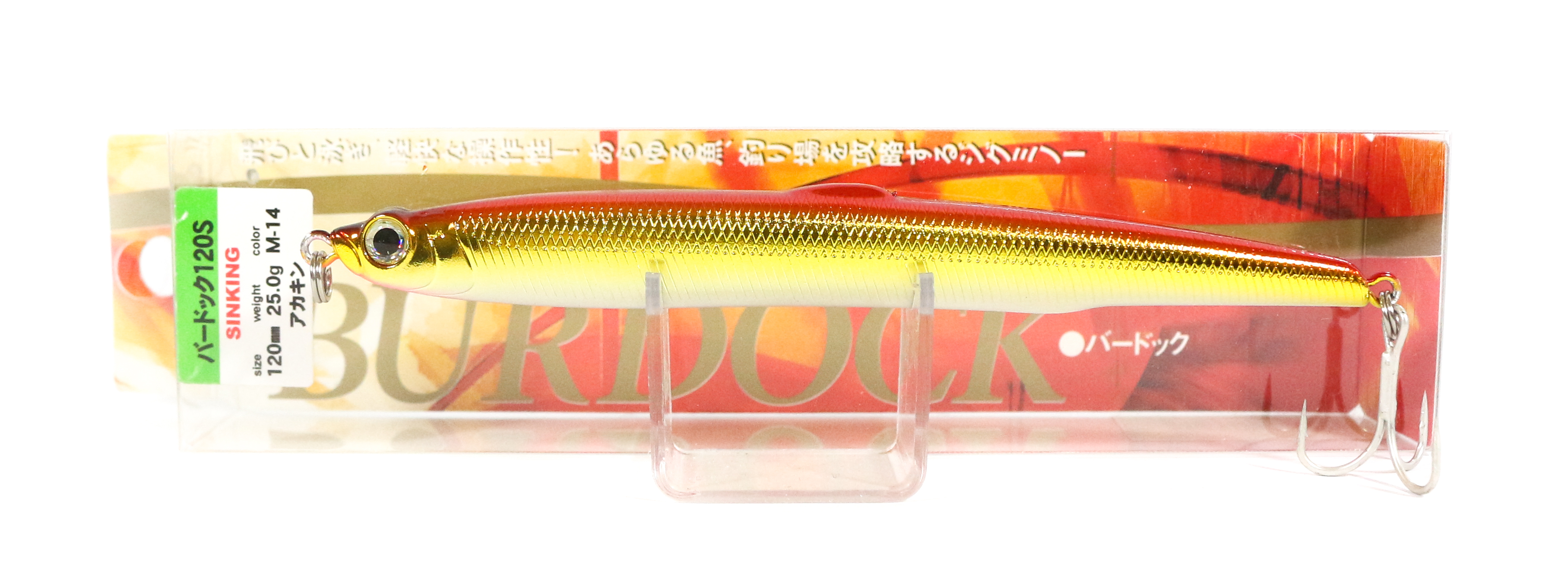 Sale Bassday Burdock 120S Jig Minnow Lure M-14 (0011)