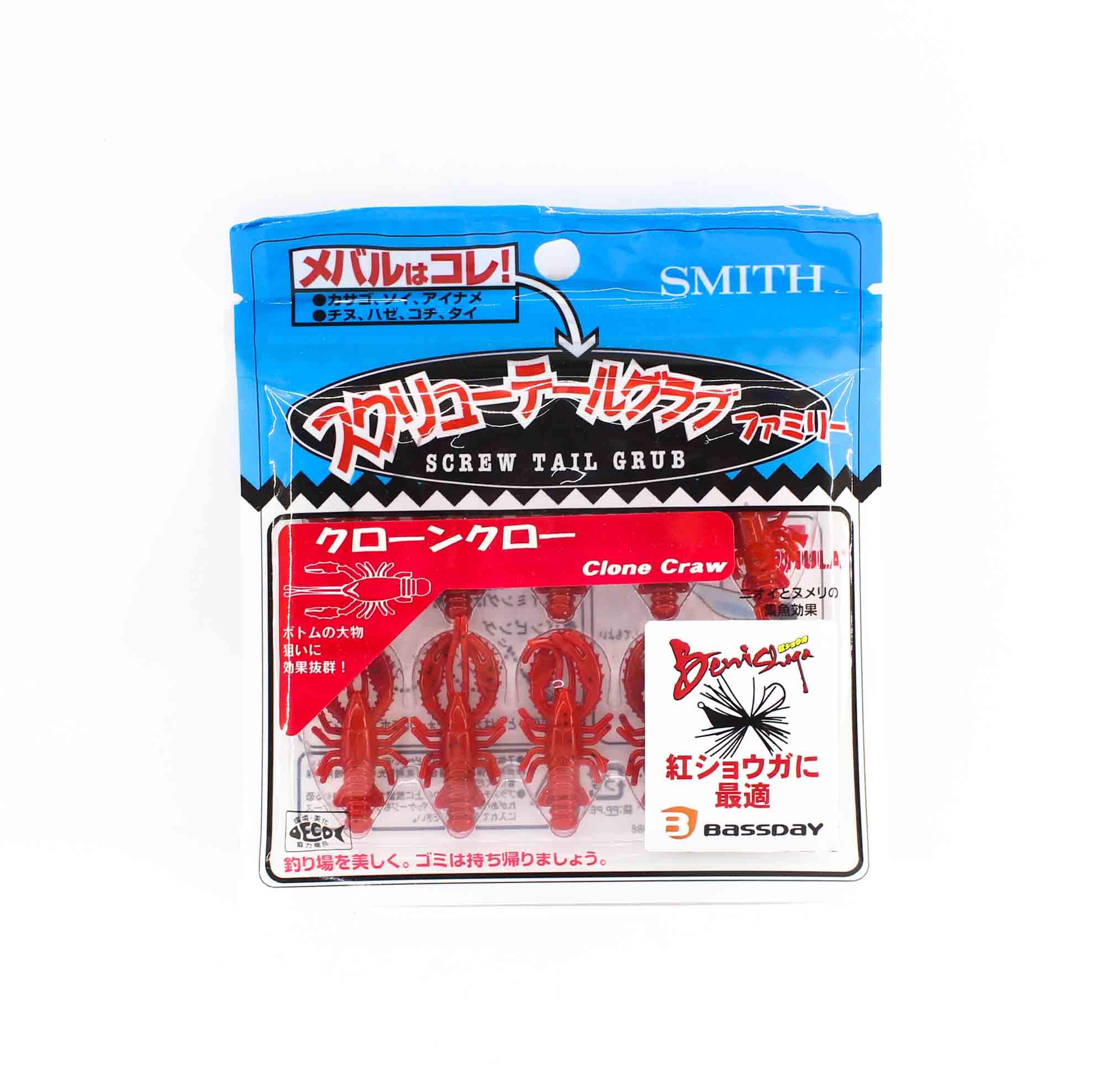 Bassday Soft Lure Clone Craw 1.5 Inch 10 Piece per pack 01 (7538)