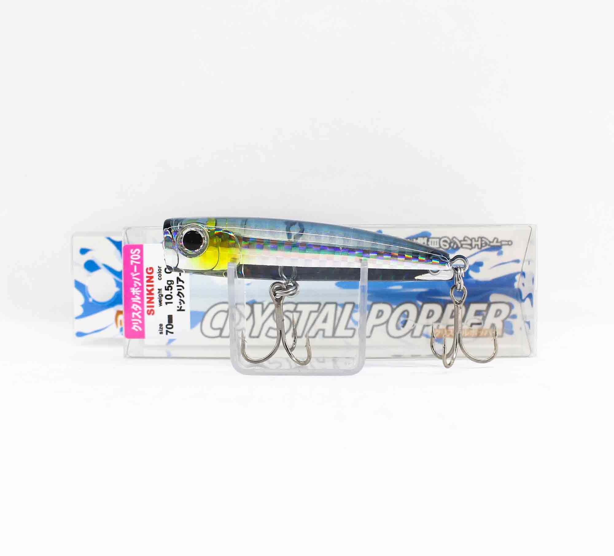 Bassday Crystal Popper 70S Sinking Lure 10.5 grams HH-189 (1028)