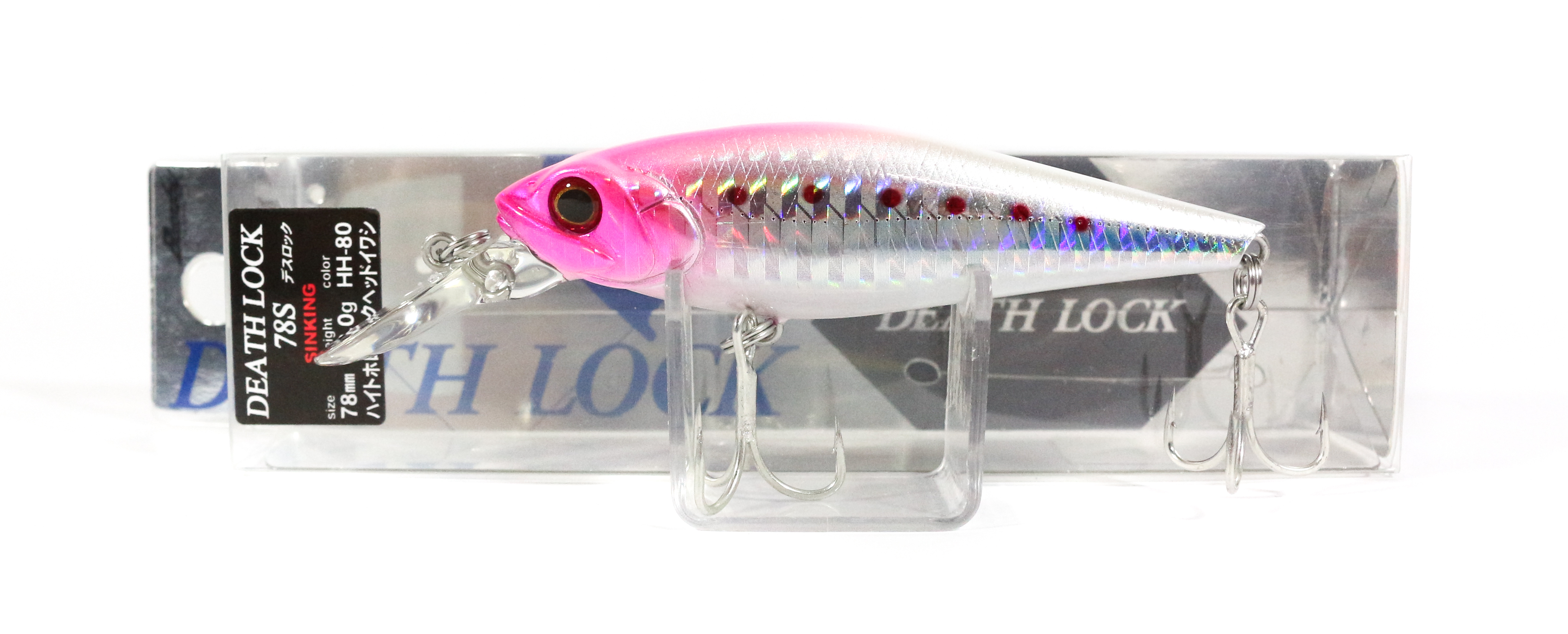 Bassday Death Lock 78S Sinking Minnow Lure HH-80 (1045)