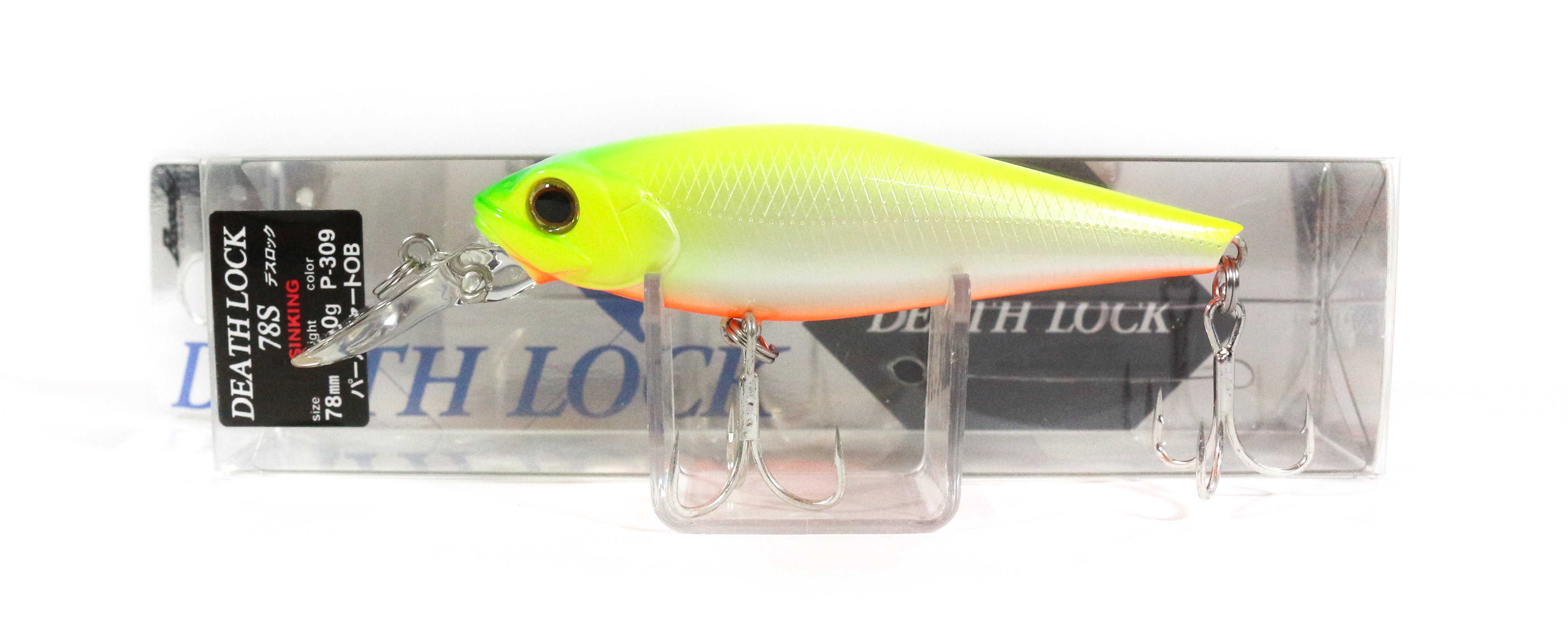 Bassday Death Lock 78S Sinking Minnow Lure P-309 (1243)