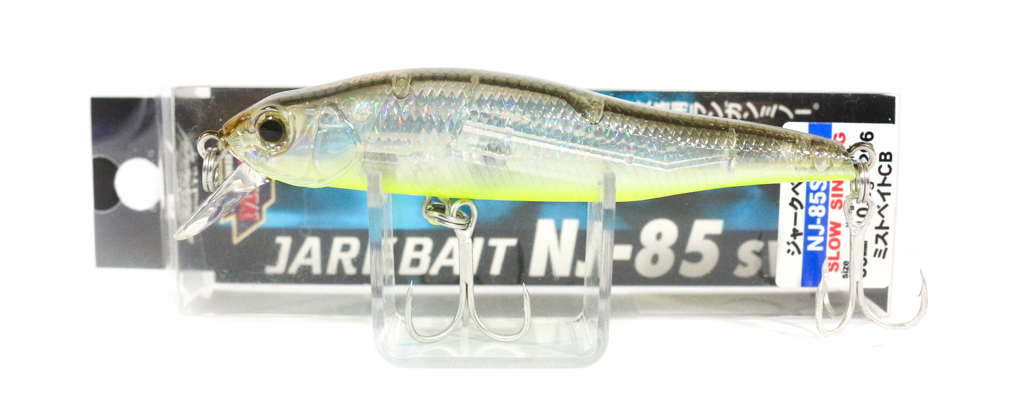 Bassday Jerkbait NJ 85 SW Sinking Minnow Lure 296 (3394)