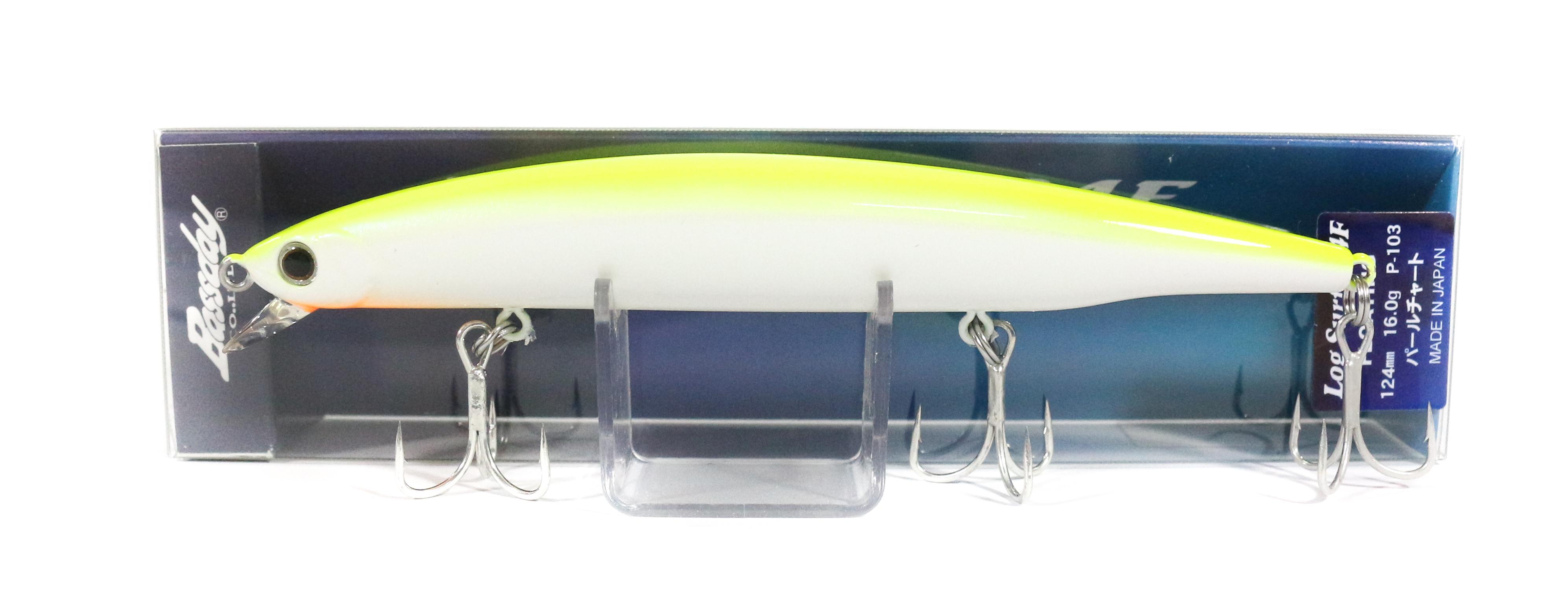 Bassday Log Surf 124F Long Casting Minnow Lure P-103 (1108)
