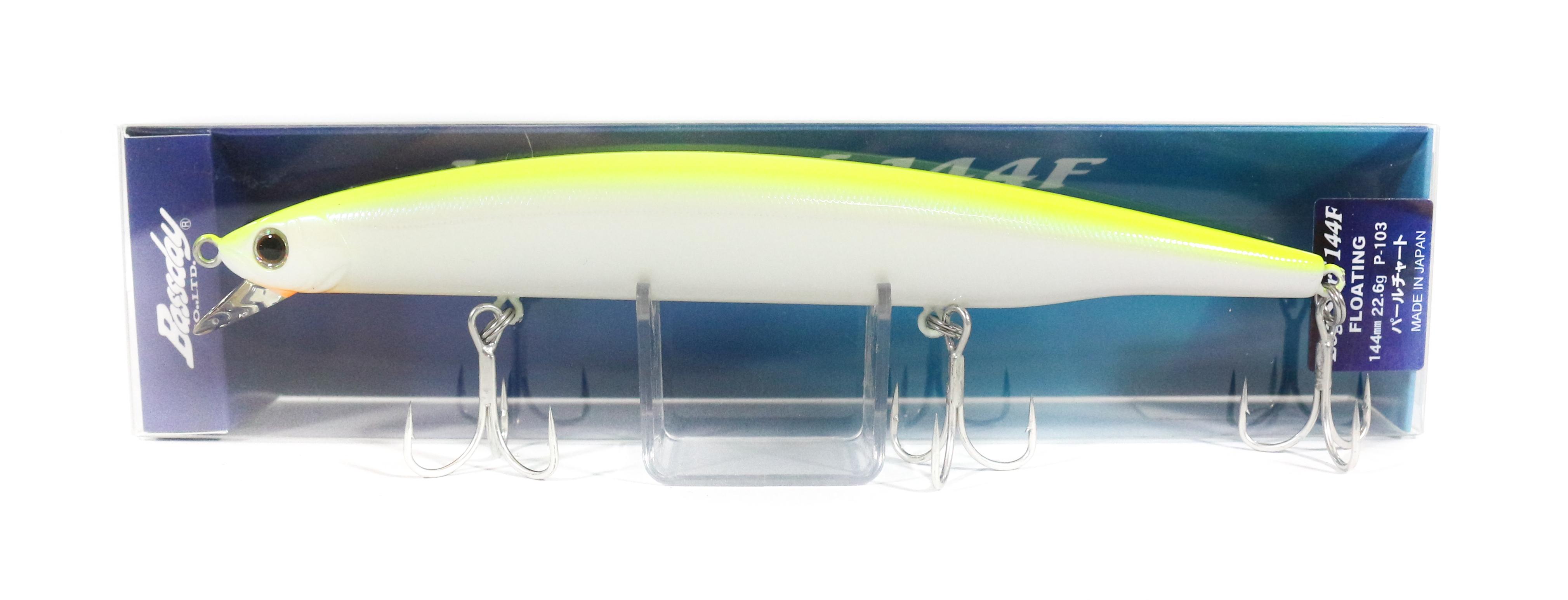 Bassday Log Surf 144F Long Casting Minnow Lure P-103 (4122)