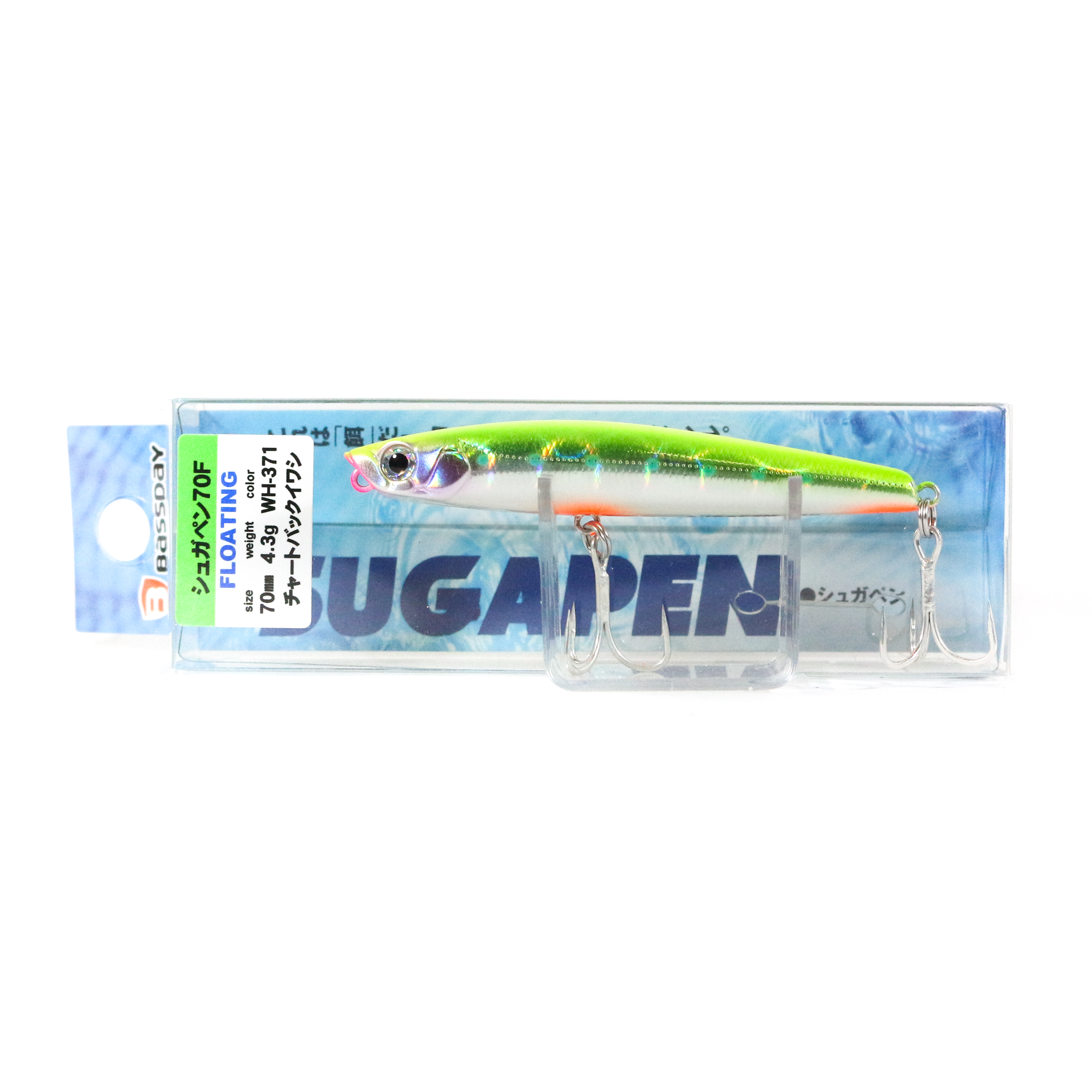 Bassday Sugar Pen 70F Floating Lure 4.3 grams WH-371 (9347)