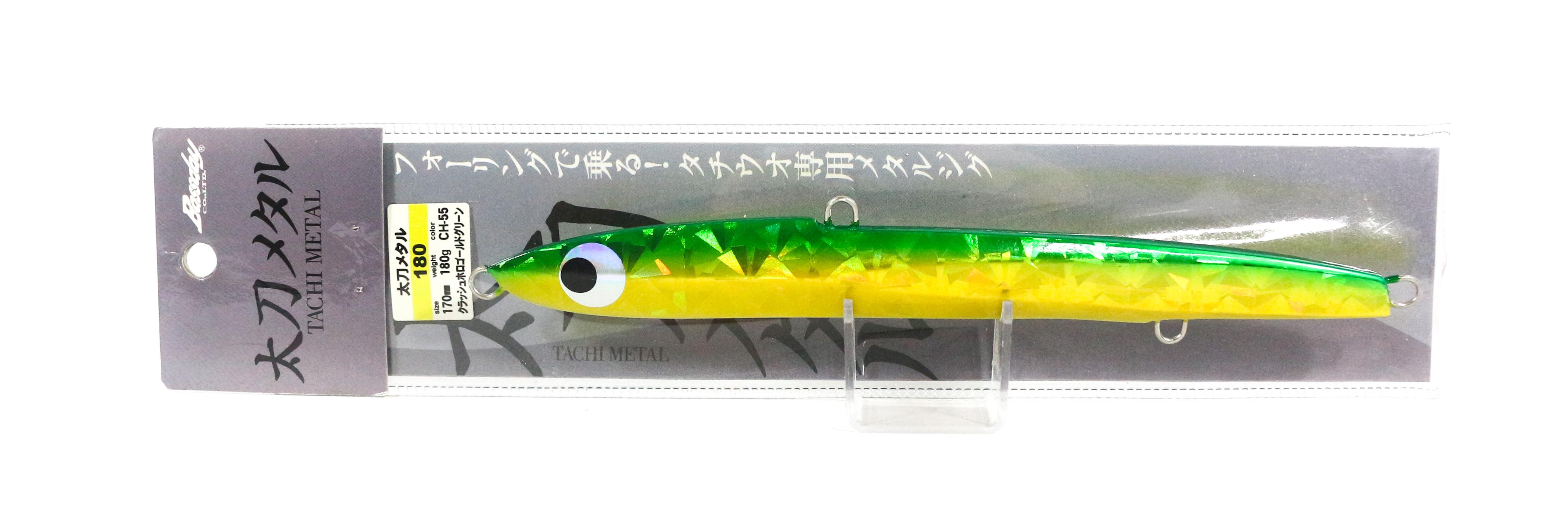 Sale Bassday Metal Jig Tachi Metal 180 grams CH-55 (5127)