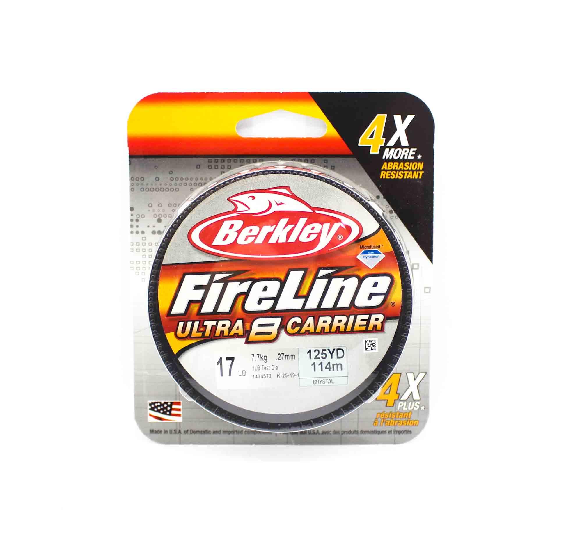 Berkley Fireline Ultra 8 Carrier 125yds 17lb White (4496)