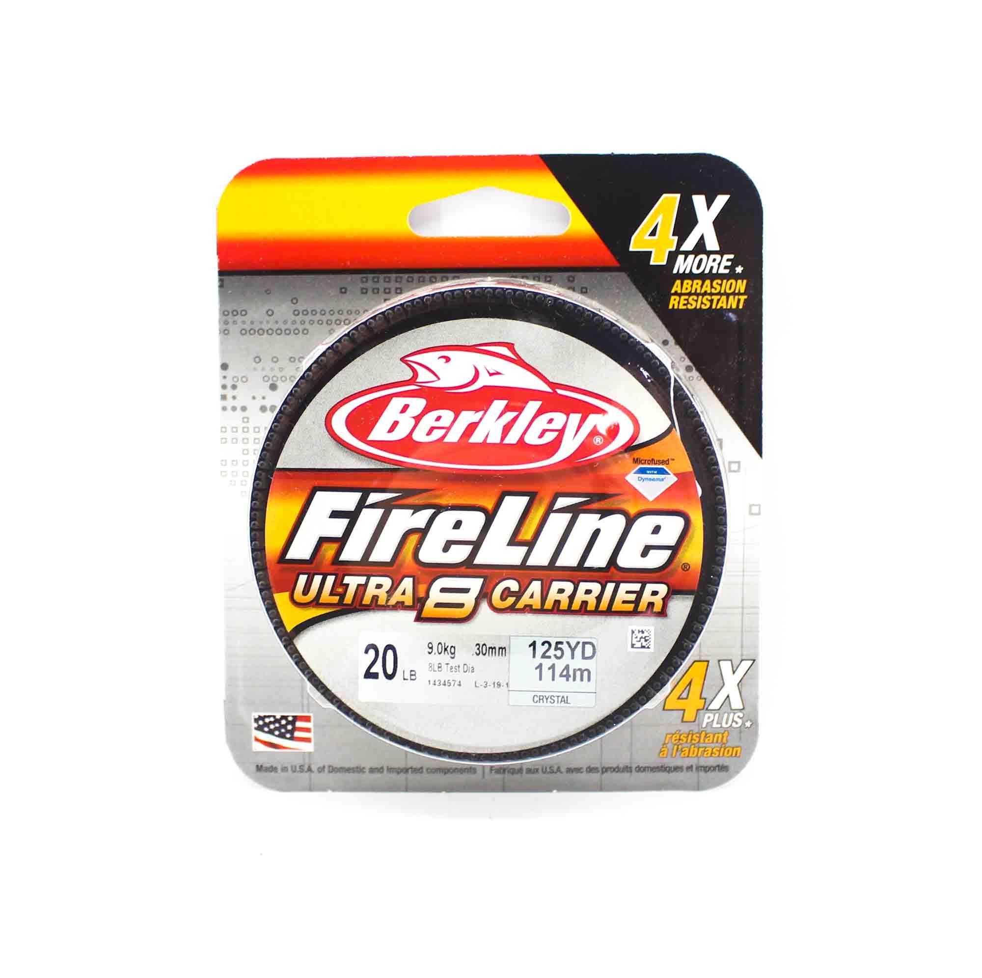 Berkley Fireline Ultra 8 Carrier 125yds 20lb White (4502)