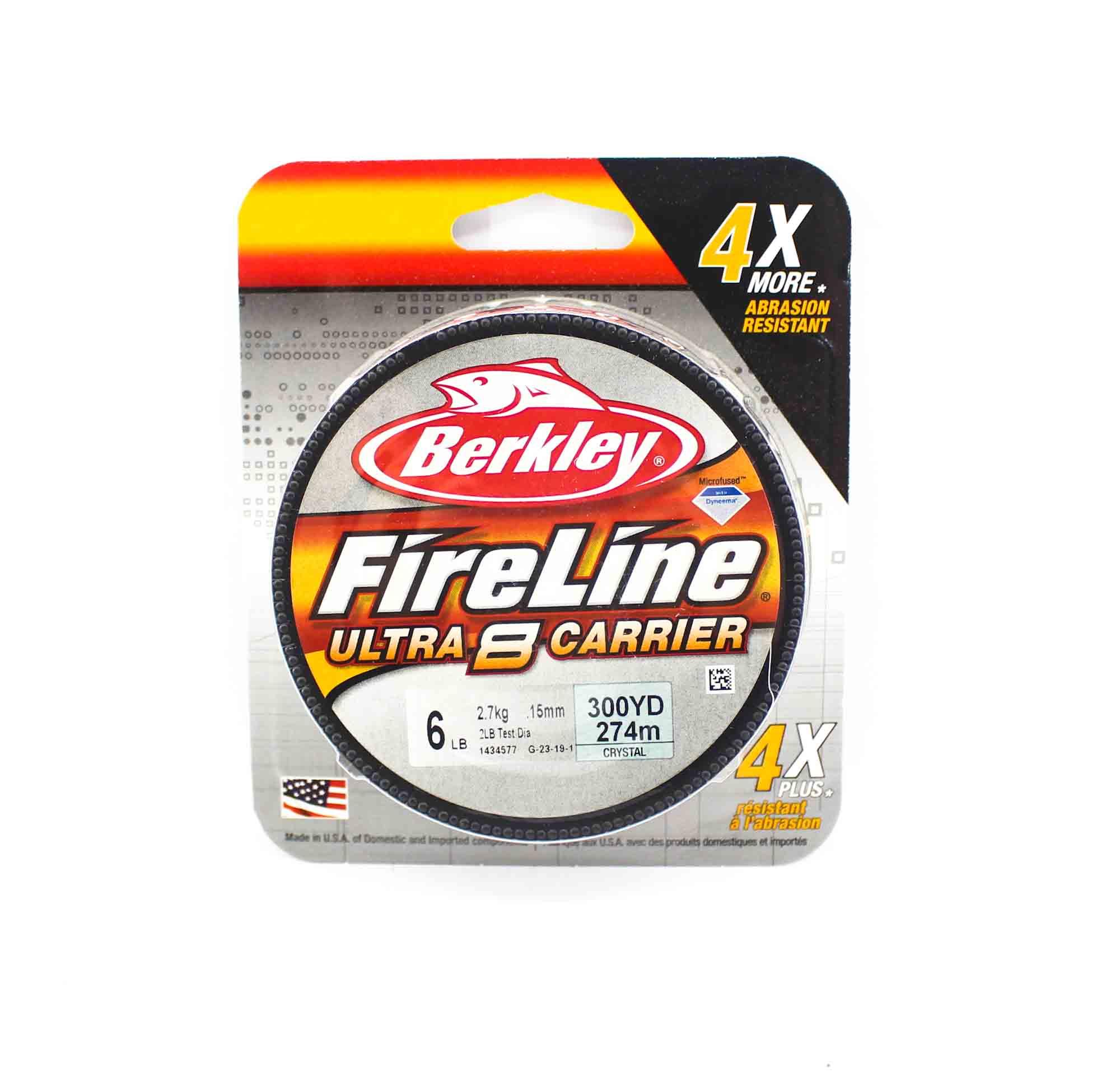 Berkley Fireline Ultra 8 Carrier 300yds 6lb White (4533)