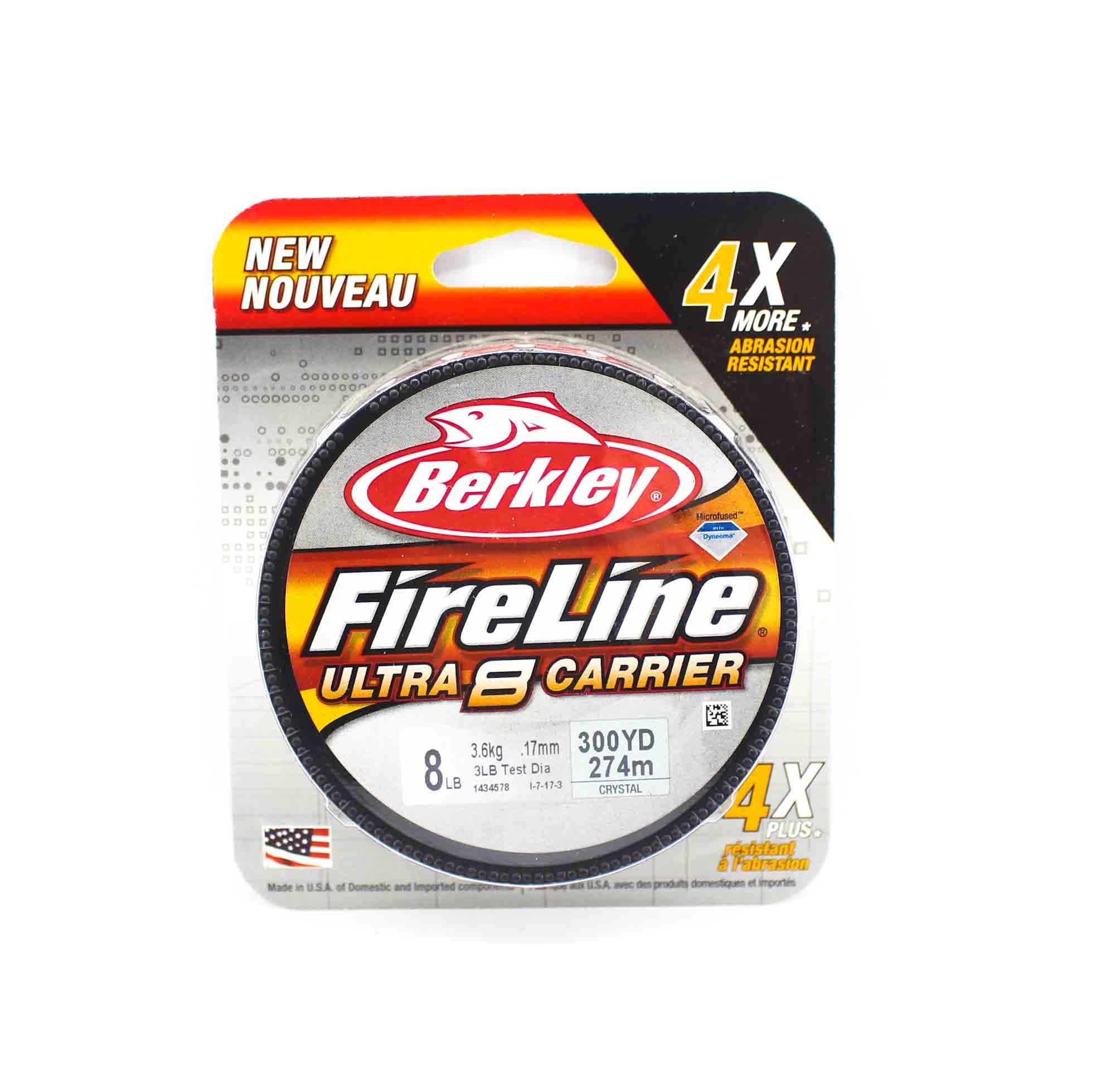 Berkley Fireline Ultra 8 Carrier 300yds 8lb White (4540)