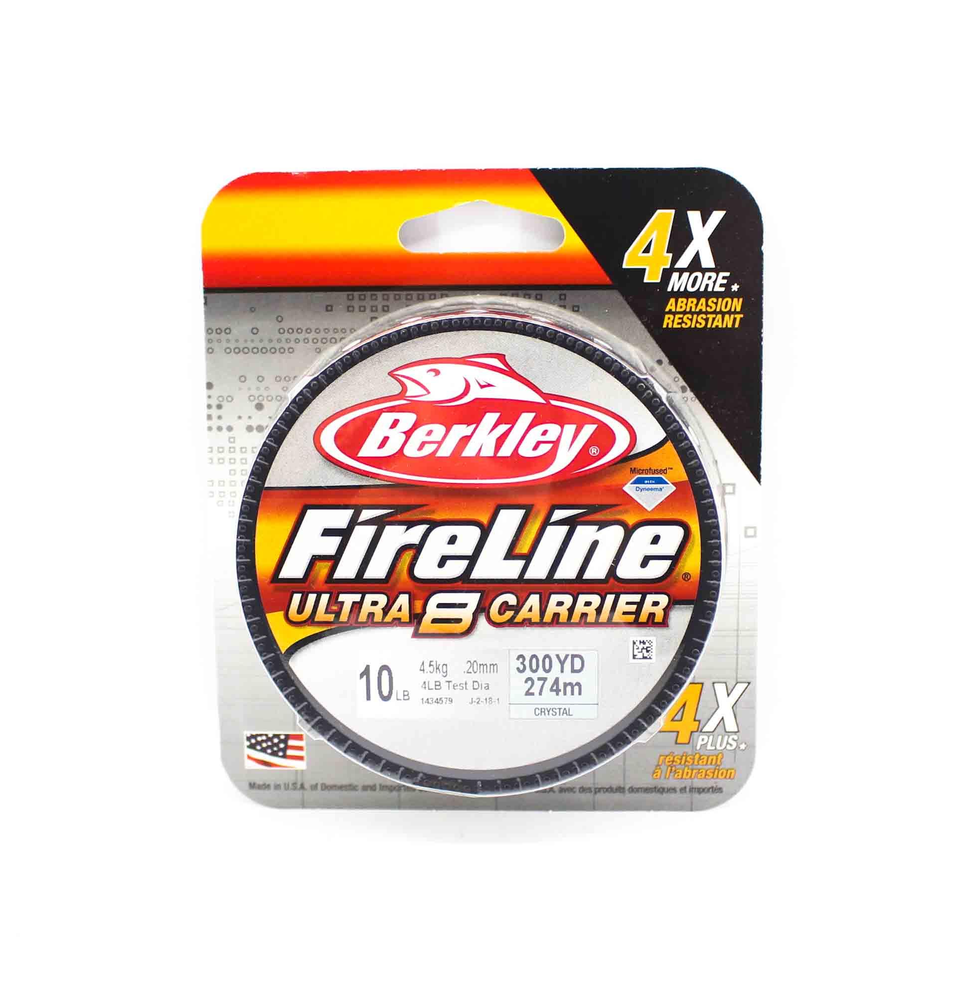 Berkley Fireline Ultra 8 Carrier 300yds 10lb White (4557)