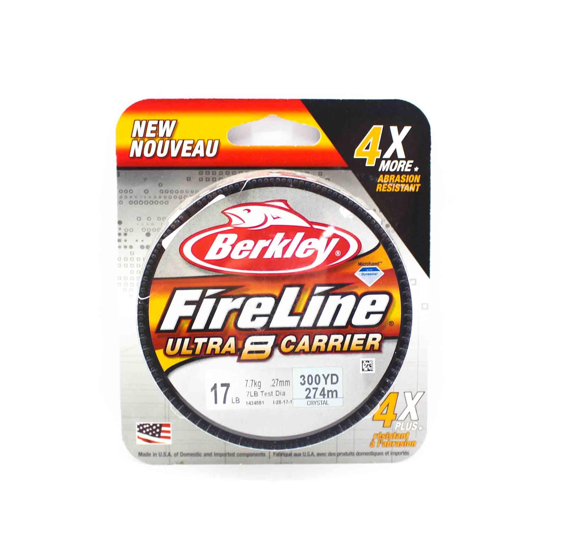Berkley Fireline Ultra 8 Carrier 300yds 17lb White (4571)