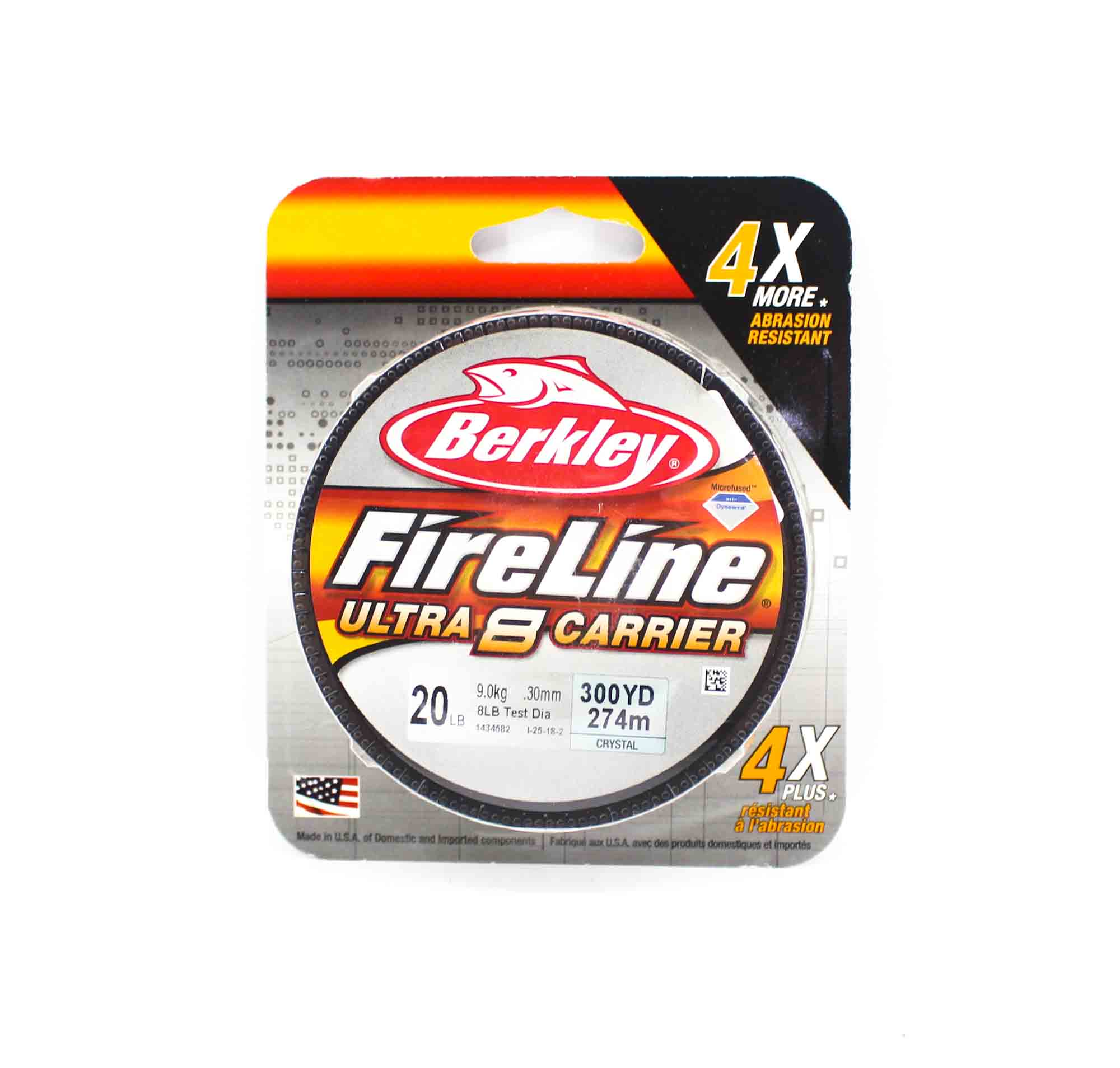 Berkley Fireline Ultra 8 Carrier 300yds 20lb White (4588)