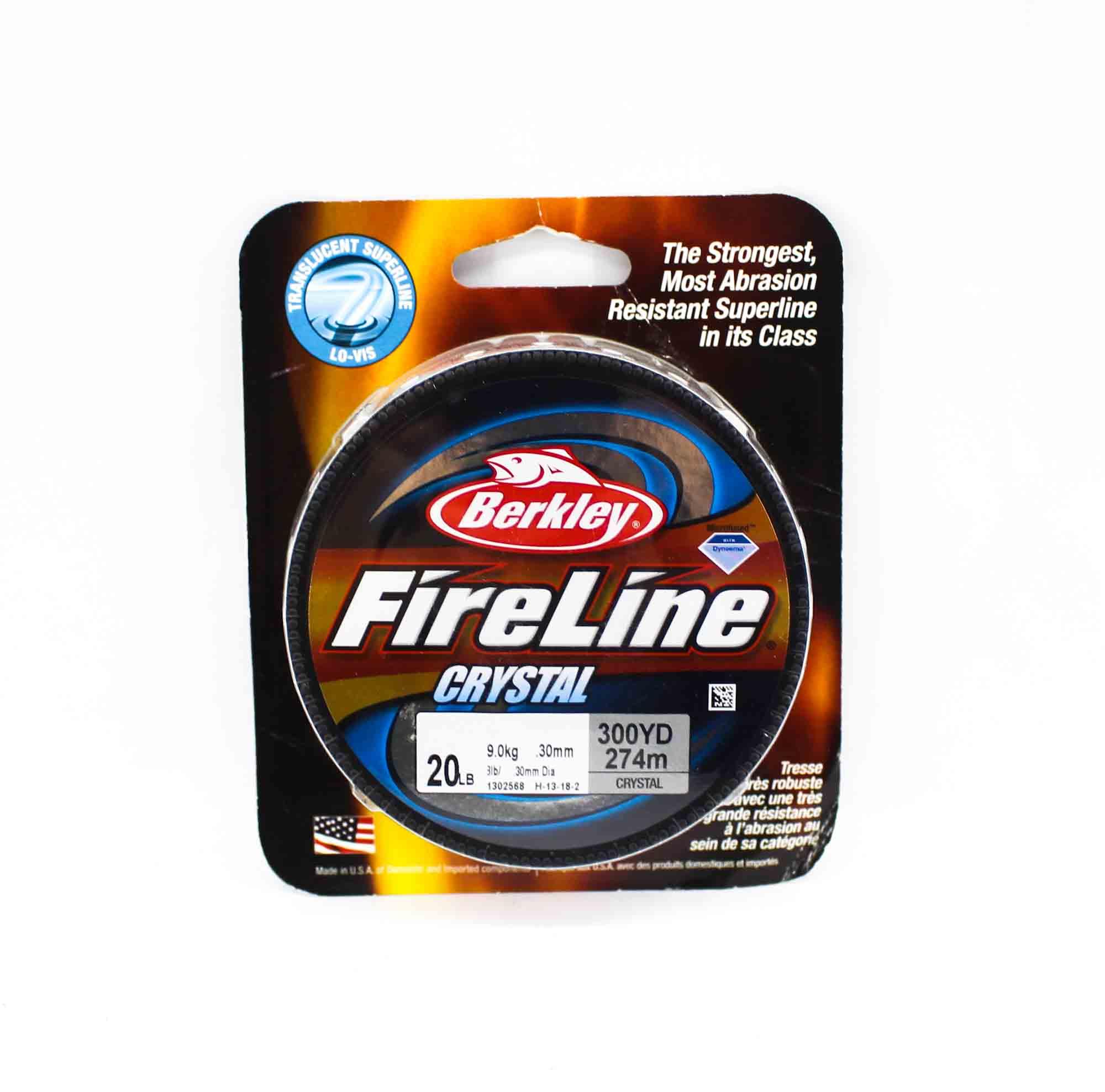Berkley Fused Fireline Crystal 300yds 20lb White (4935)