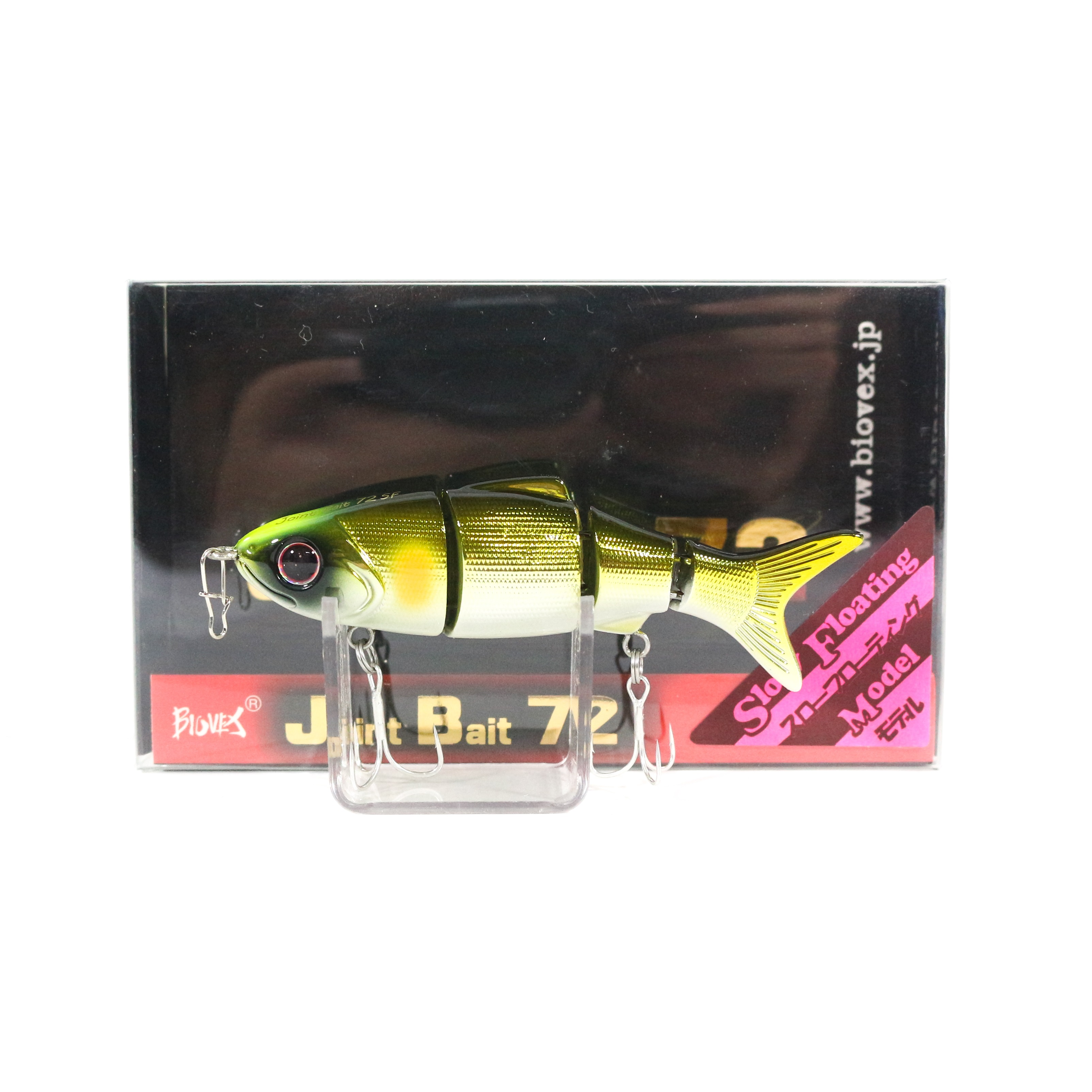 Biovex Joint Bait 72SF Flat Side Slow Floating Lure 21 (3307)