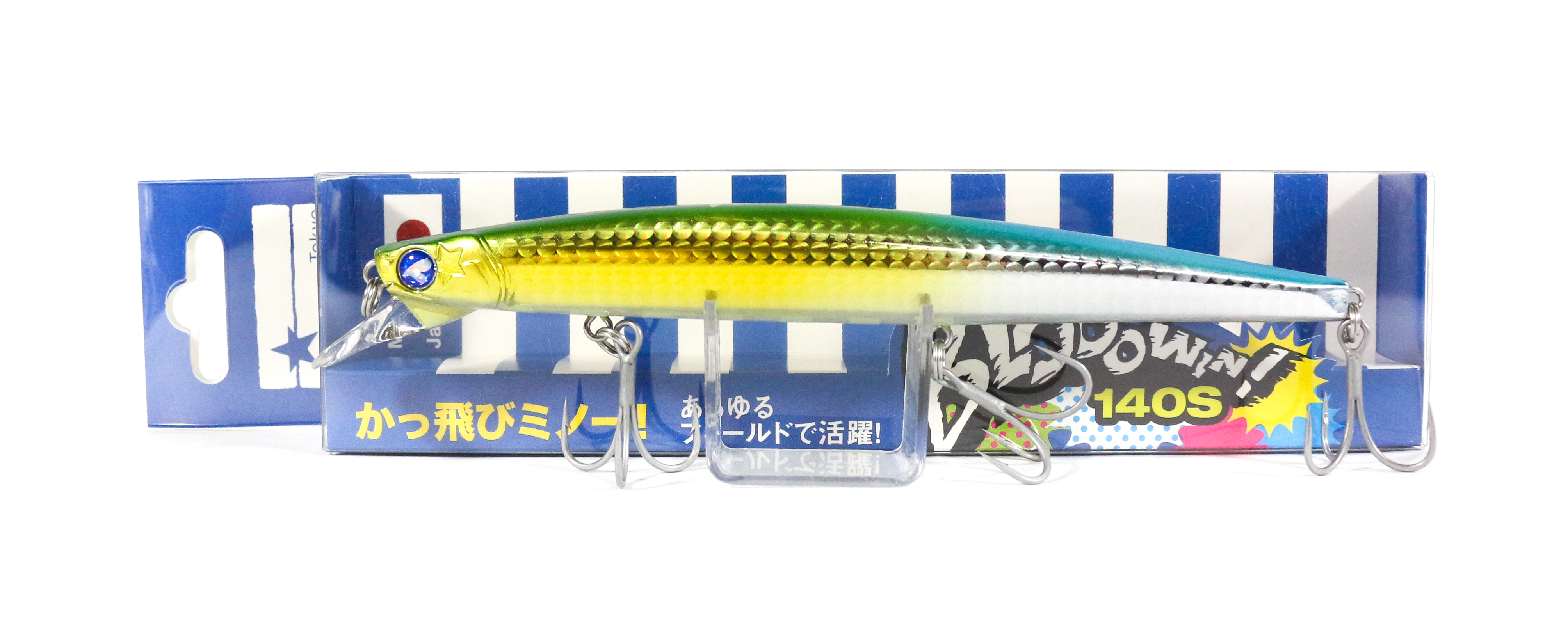 Blue Blue Blooowin 140S 23 grams Sinking Lure 10 (0924)