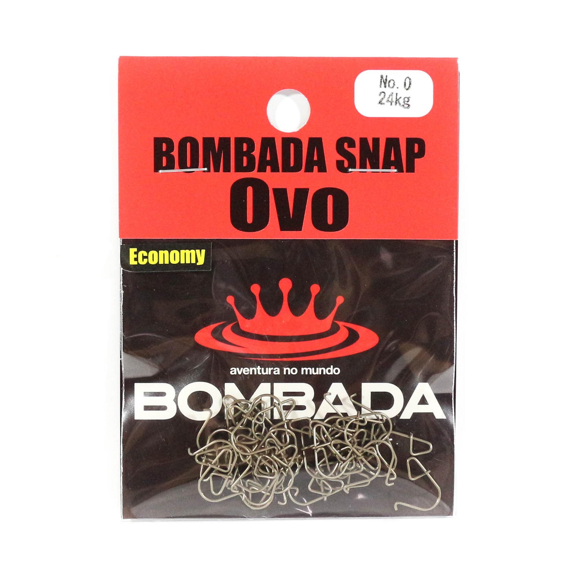 Bombada Lure Snap Ovo Economy Pack Heavy Duty Size 0 (3922)