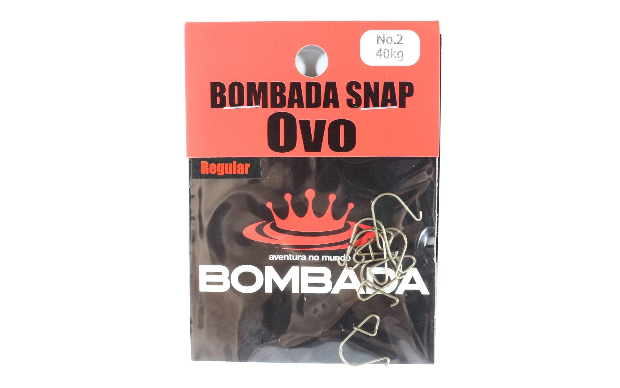 Bombada Lure Snap Ovo Regular Pack Heavy Duty Size 2 (1126)