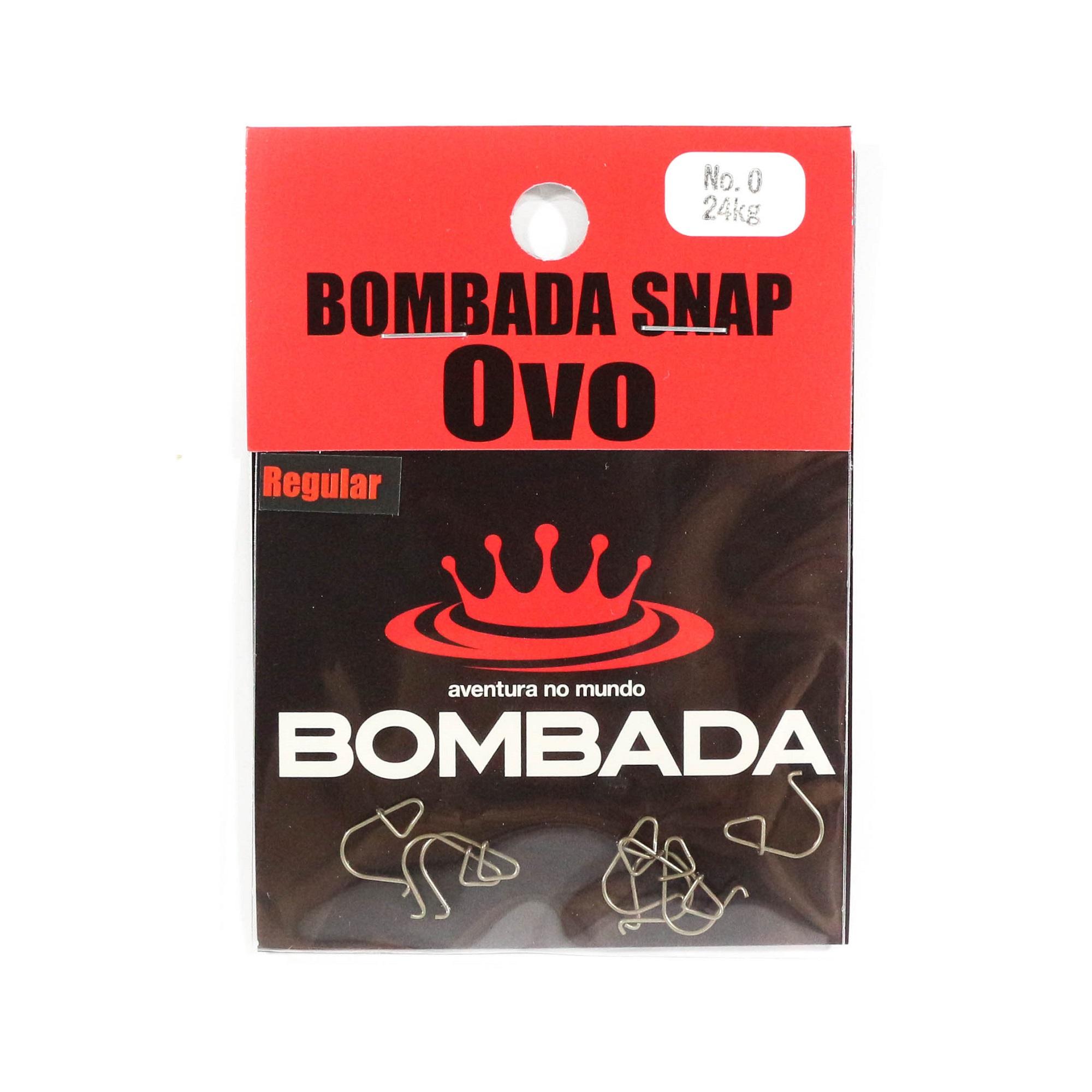 Bombada Lure Snap Ovo Regular Pack Heavy Duty Size 0 (3915)