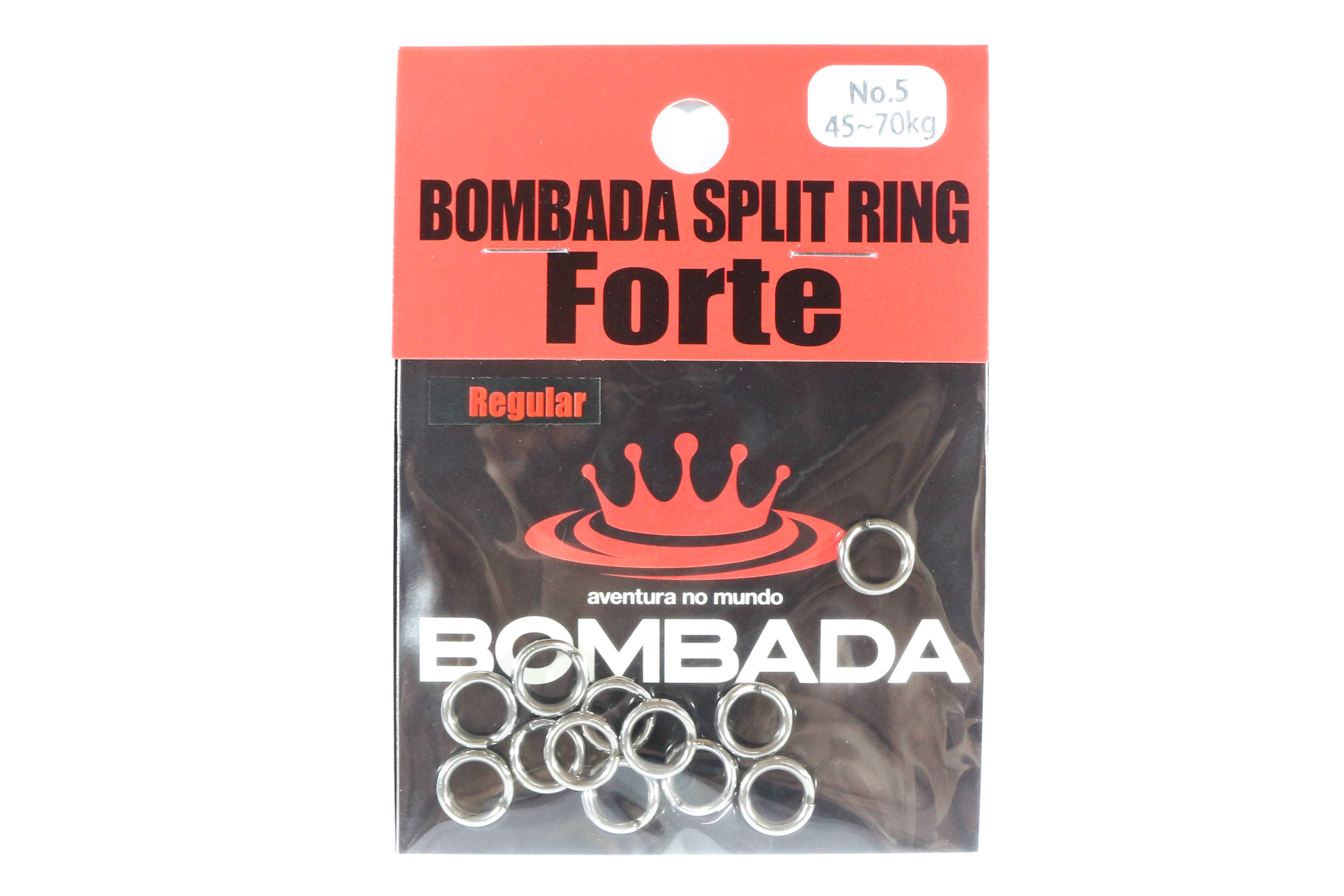 Bombada Split Rings Forte Regular Pack Heavy Duty Size 5 (1041)