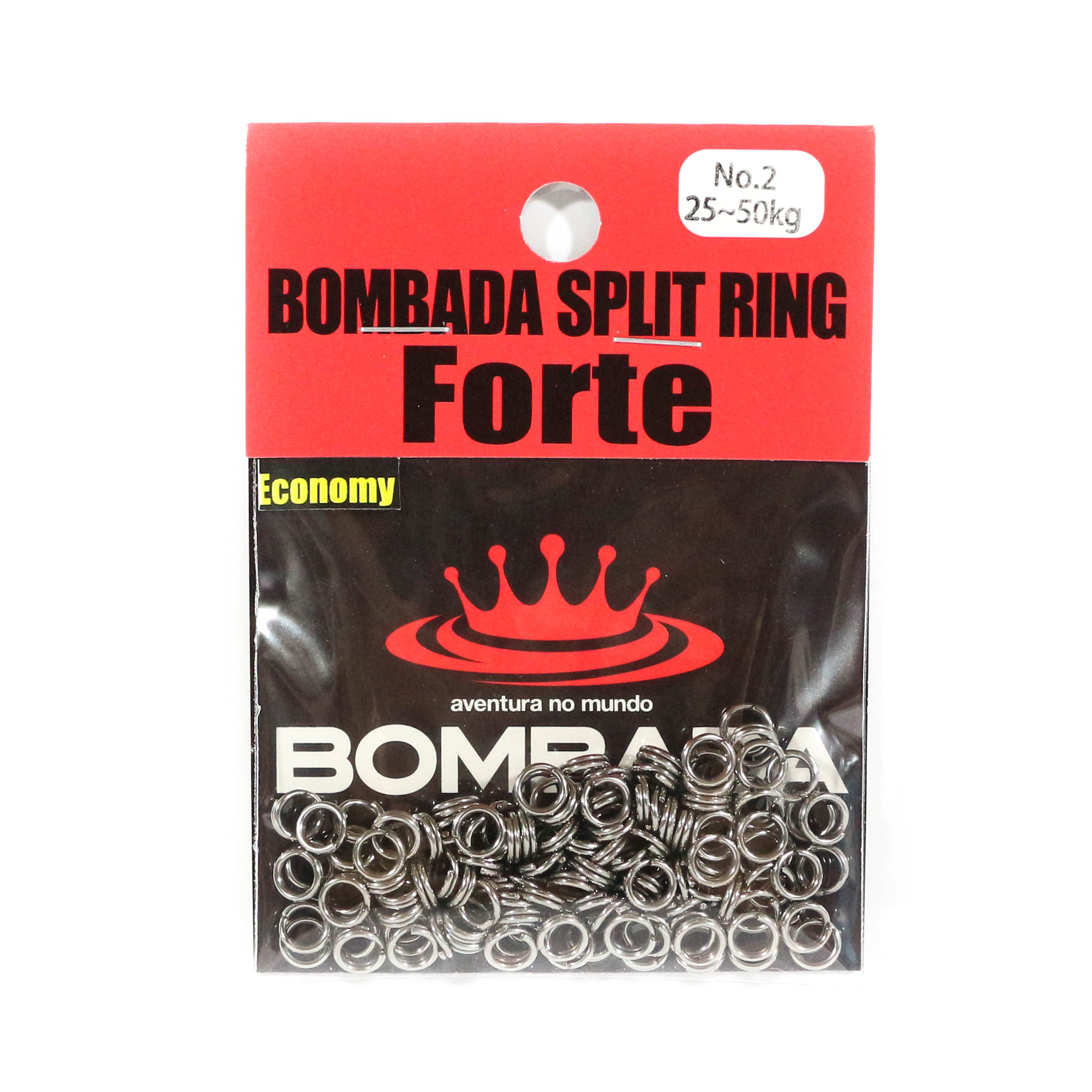 Bombada Split Rings Forte Economy Pack Heavy Duty Size 2 (1065)