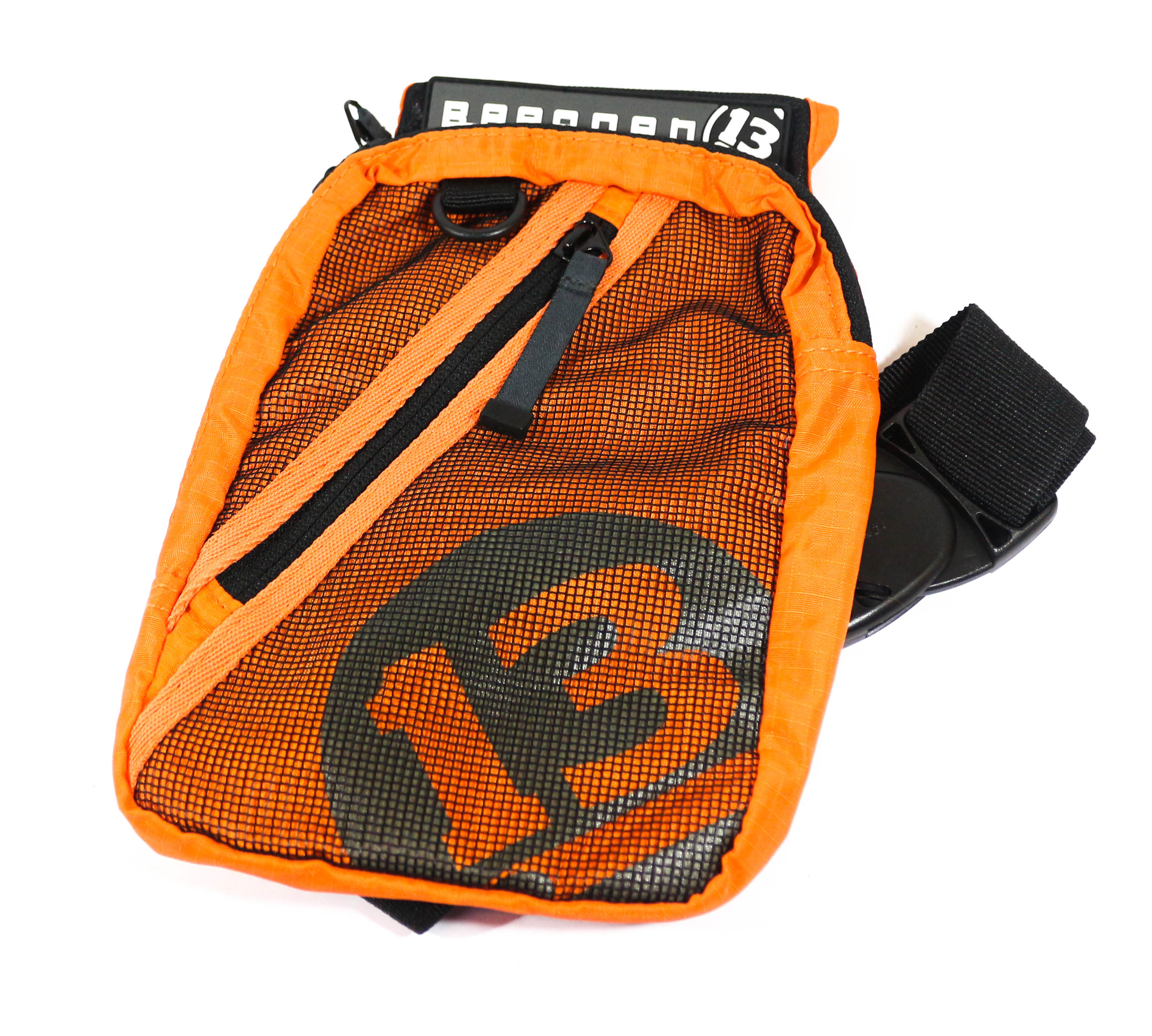 Breaden Momo Light Game Thigh Bag 300 x 300 x 50mm Orange (0011)
