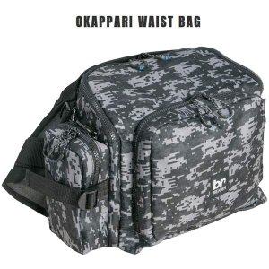 Breaden Waist Bag Okappari 24 x 35 x 15cm Gray Camou (6426)