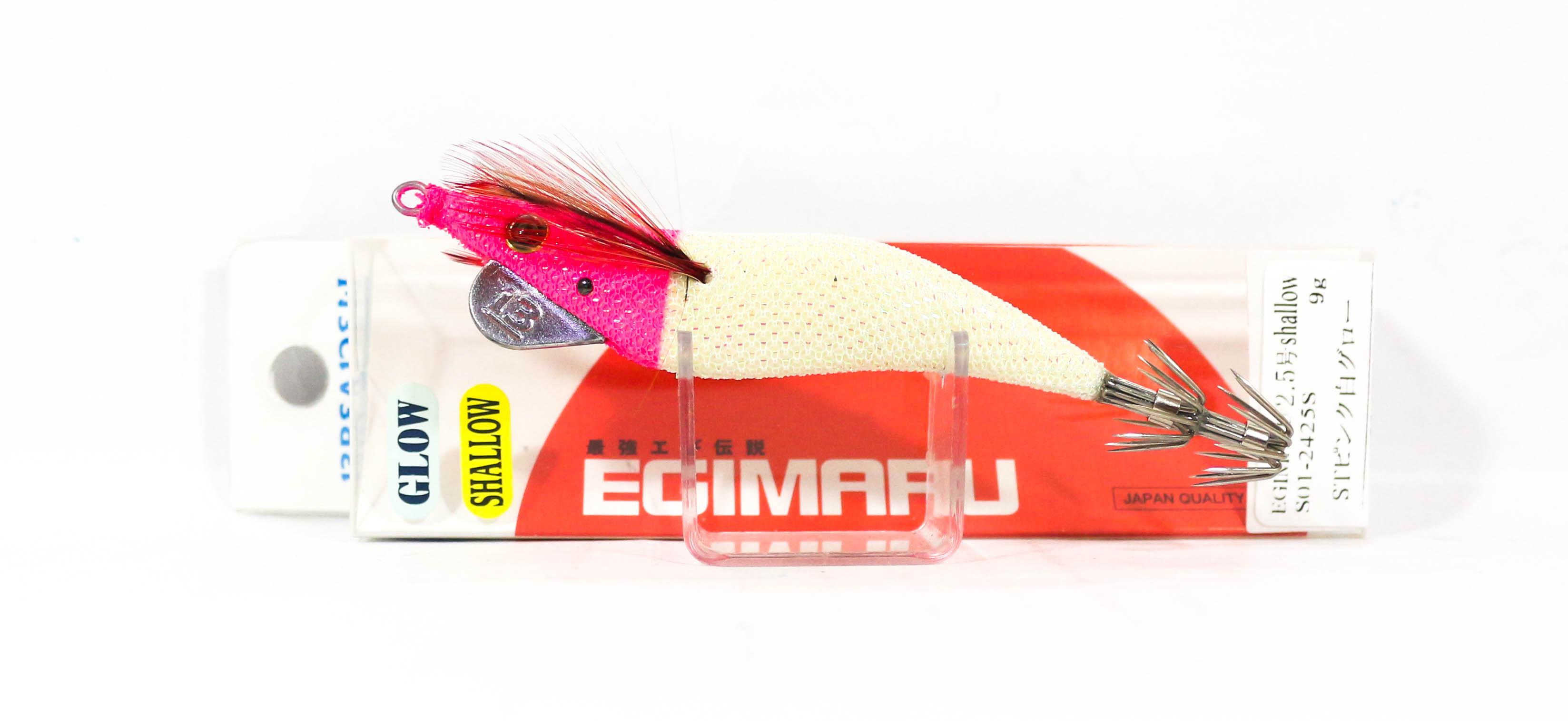 Breaden Egimaru Squid Jig Sinking Lure 2.5S S01-2425S (2565)