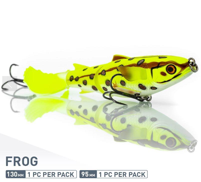 Chase Baits Soft Lure Drunken Mullet 130 mm Frog (5298)