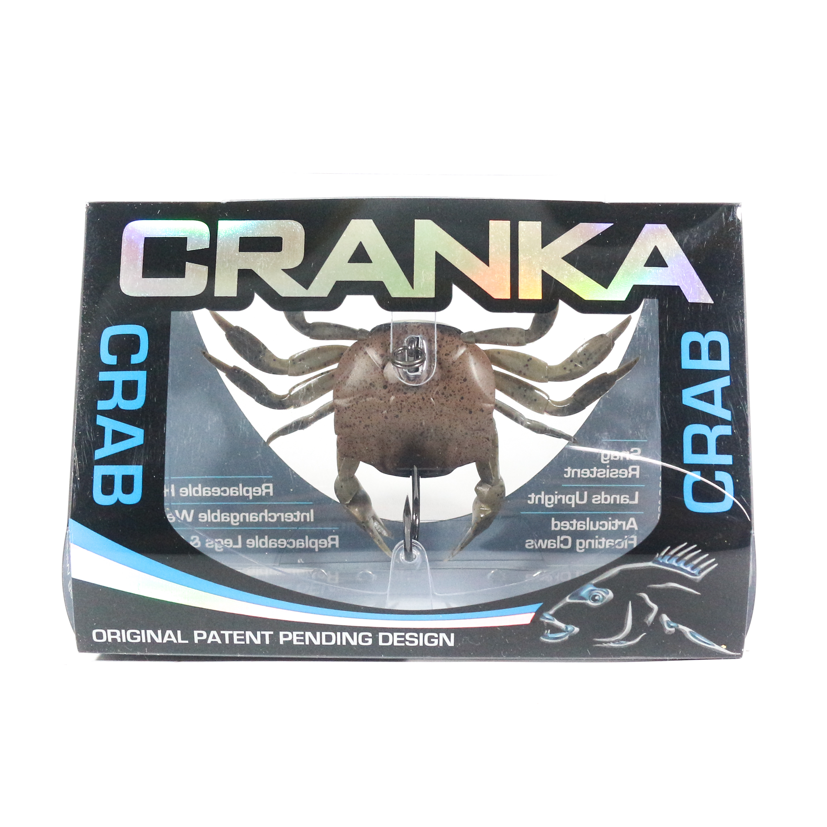 Cranka Crab Sinking Lure 21 grams CRS-85-BRN (5426)