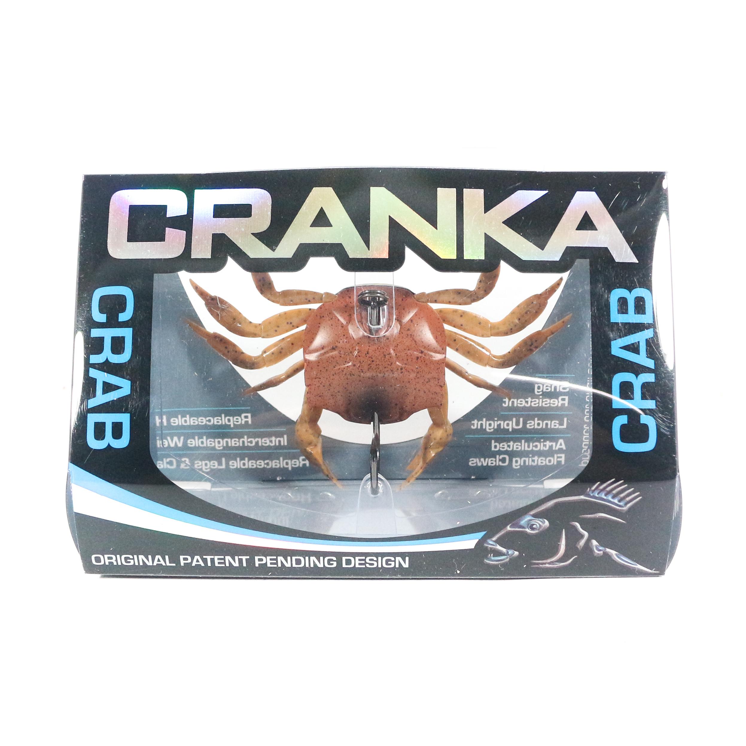 Cranka Crab Sinking Lure 21 grams CRS-85-SPT (5464)