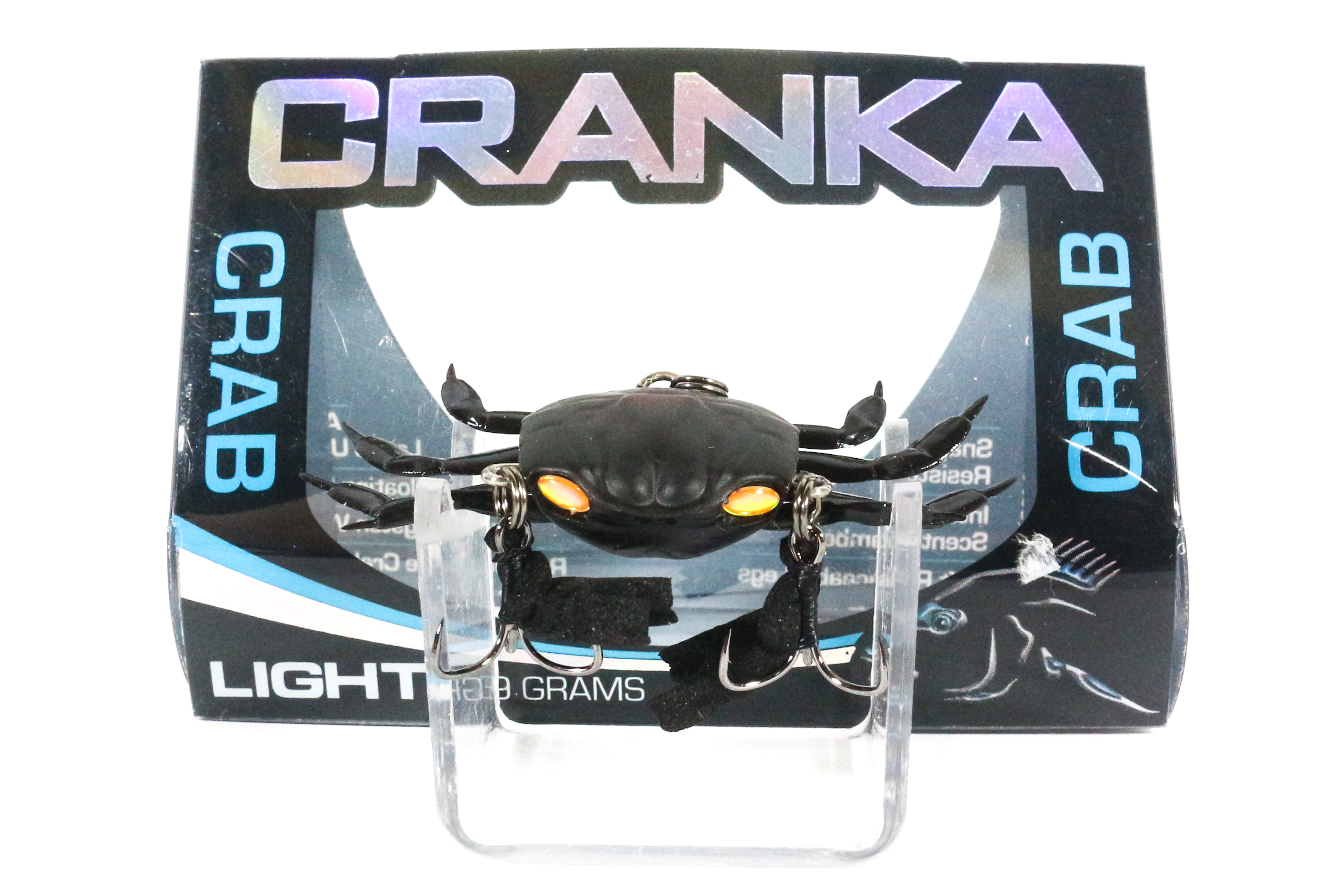 Cranka Crab Sinking Lure 3.9 grams CR-18-GLO (5715)