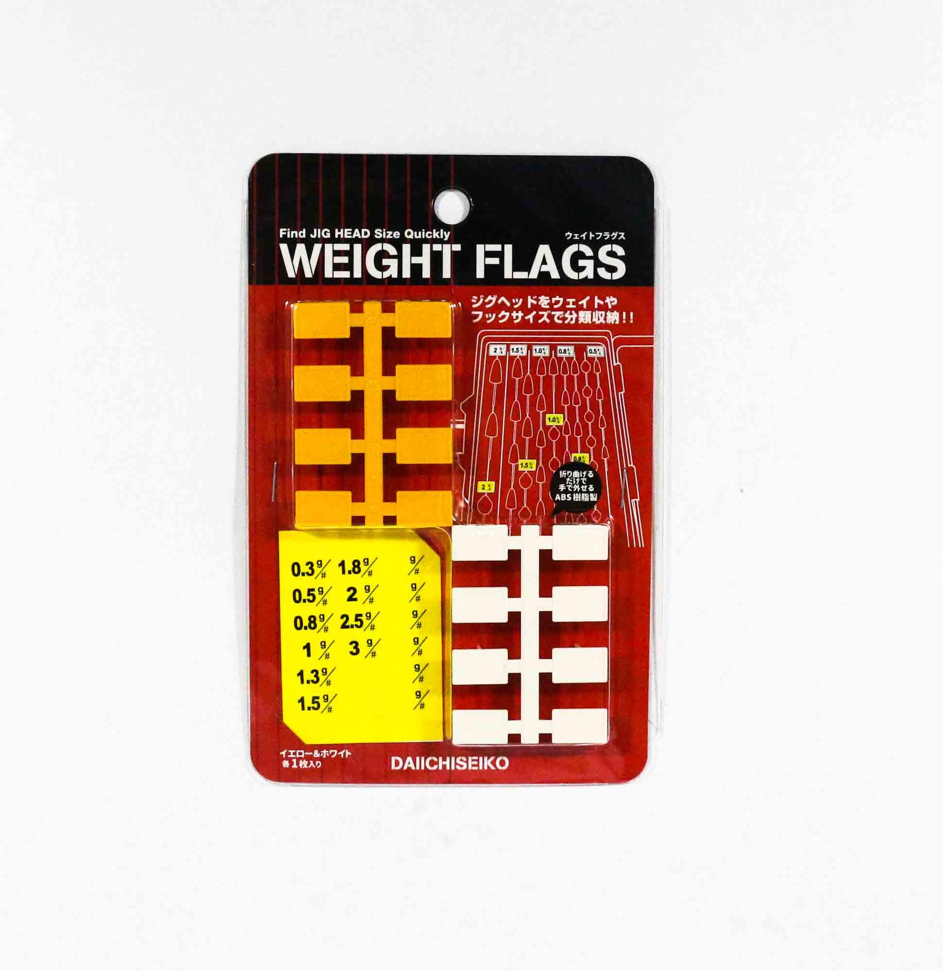 Daiichi #32163 Weight Flags for Slit Foam Case (1639)
