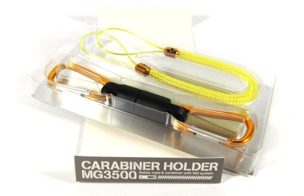 Daiichi #33270 Safety Rope Carabiner MG 5000 Magnet System 5 Kg Yellow