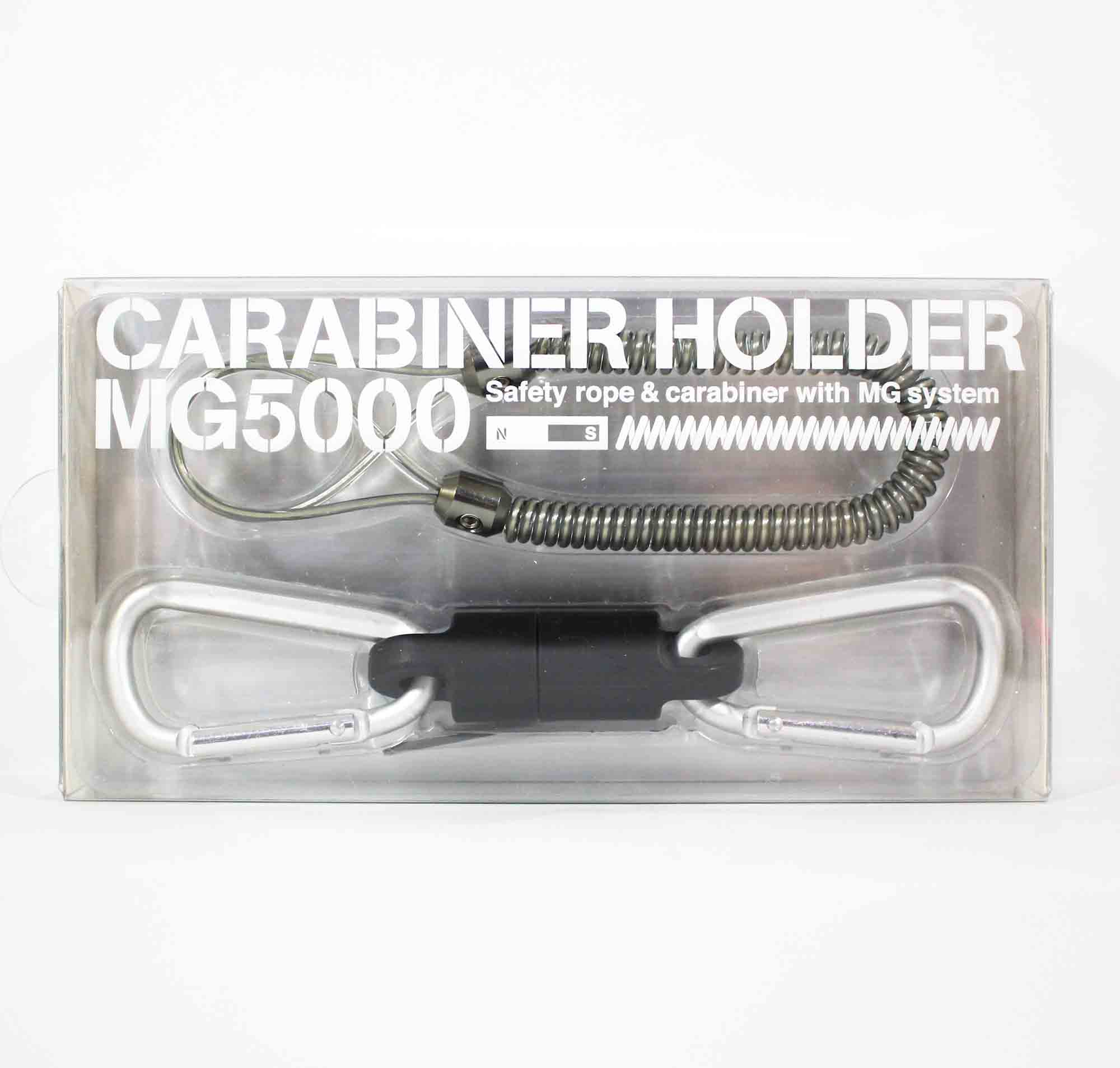 Daiichi #33268 Safety Rope Carabiner MG 5000 Magnet System 5 Kg Silver