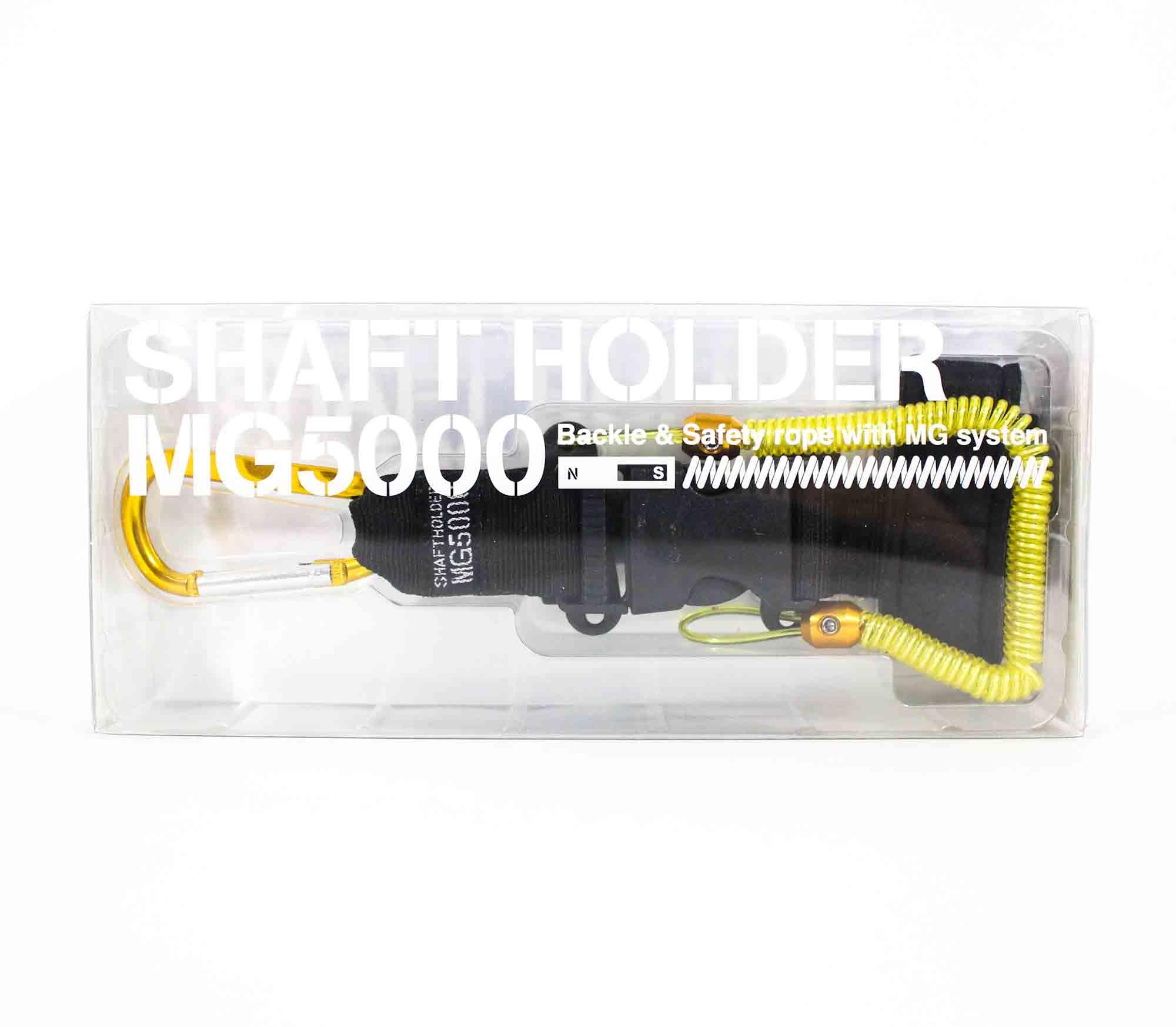 Daiichi #33262 Shaft Holder MG 5000 Magnet System 120 cm Yellow (2628)