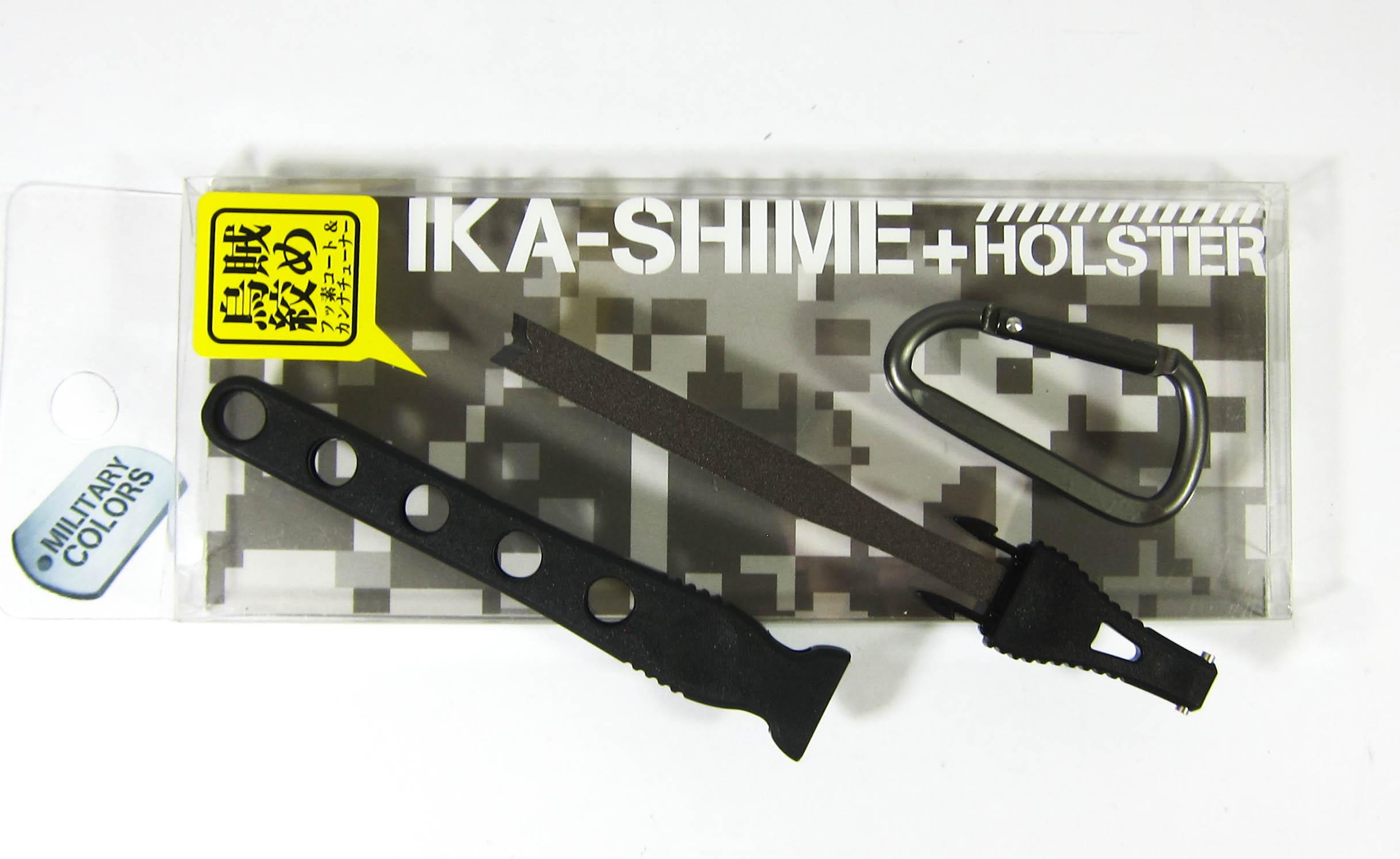 Daiichi #32141 Egi Oh Ika Shime Squid Spike Holster 125mm Black (1417)