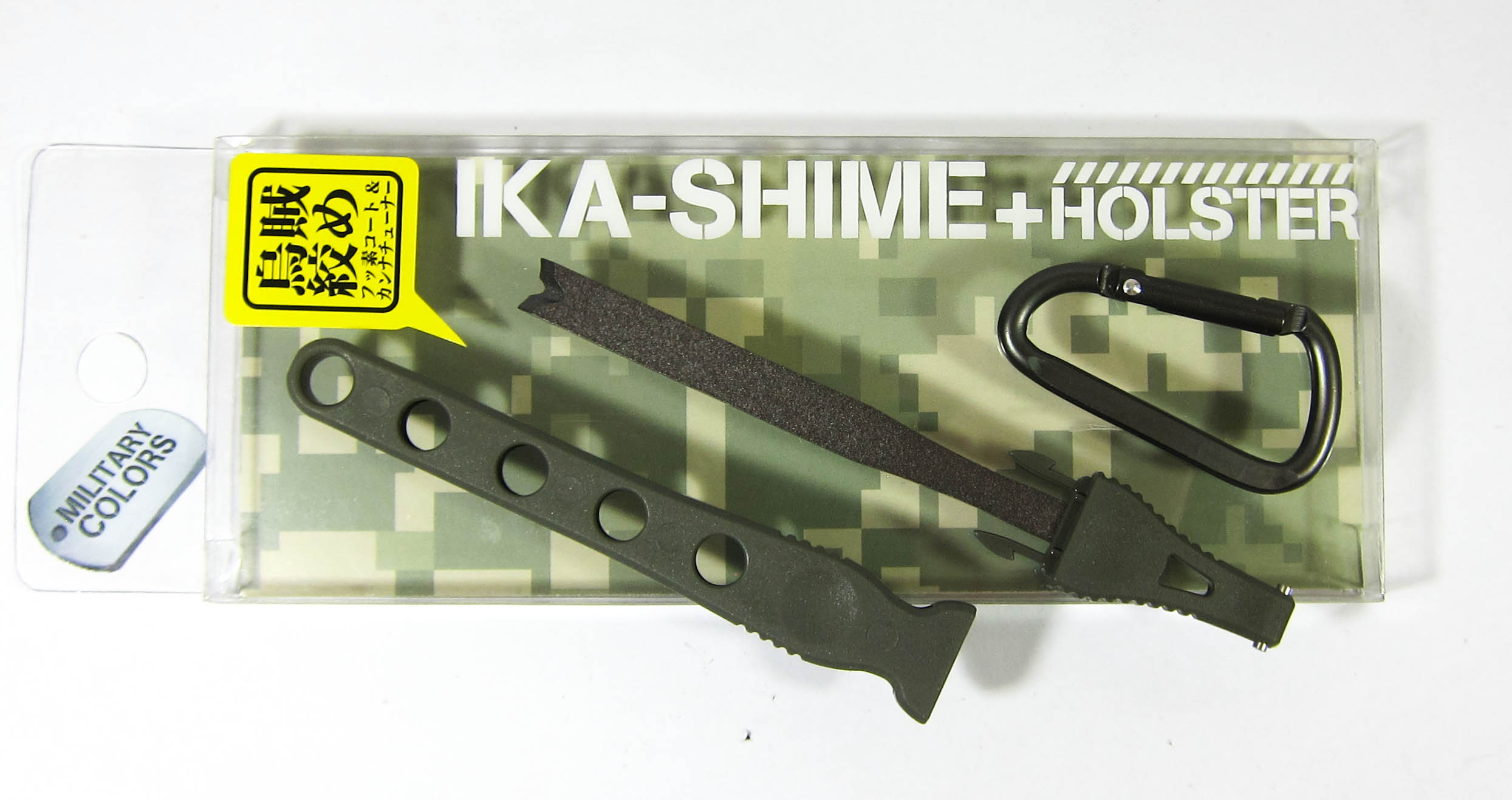 Daiichi #32142 Egi Oh Ika Shime Squid Spike Holster 125mm Green (1424)