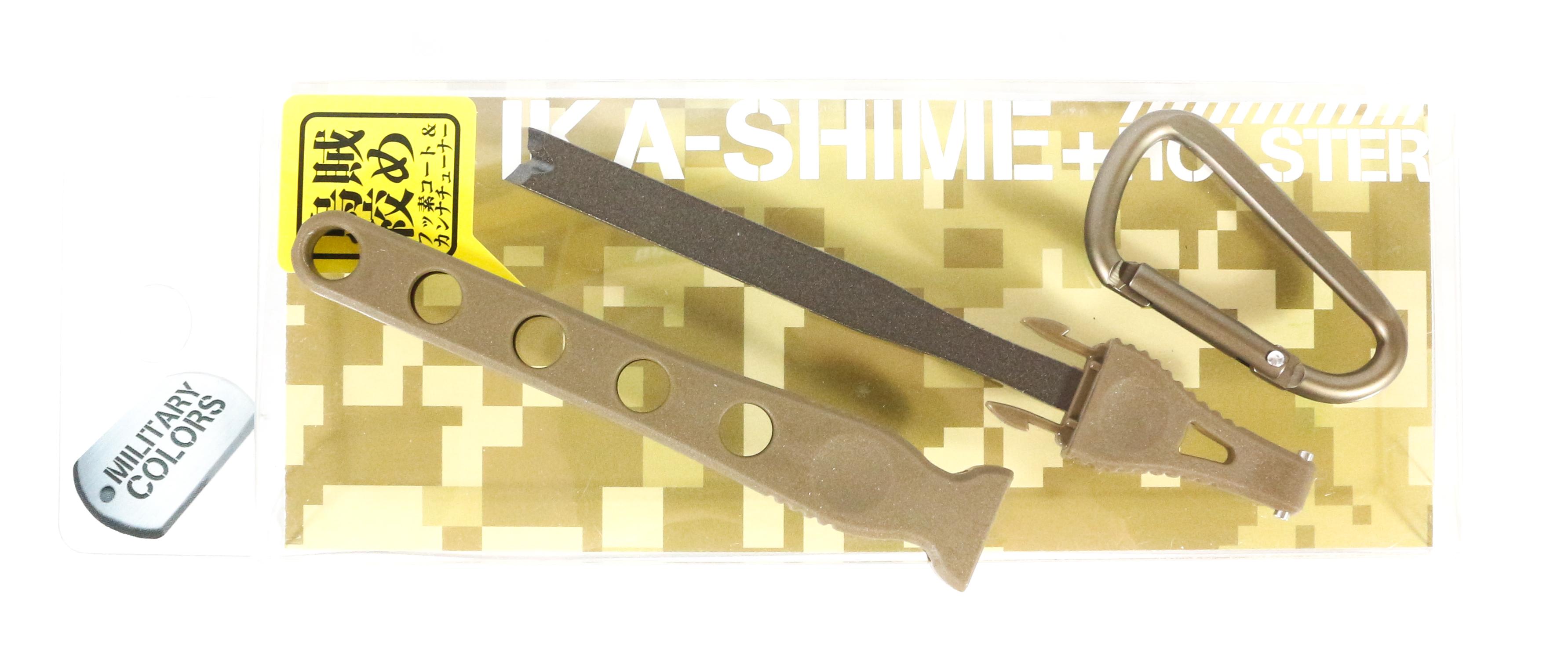 Daiichi #32143 Egi Oh Ika Shime Squid Spike Holster 125mm Brown (1431)