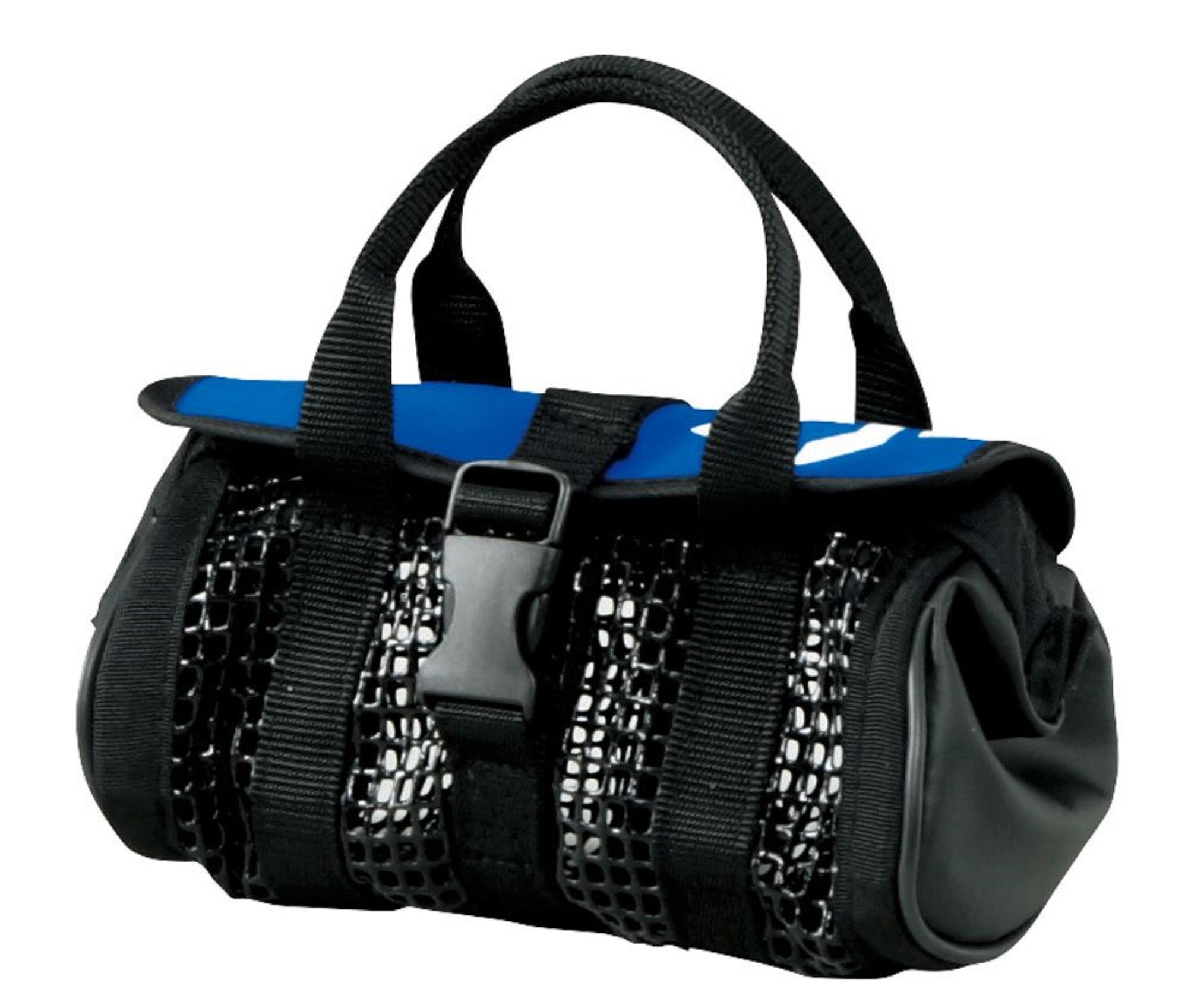 Daiwa #2296 Jig Mesh Bag Washable 9 x 17 x 9cm Blue Short (5432)