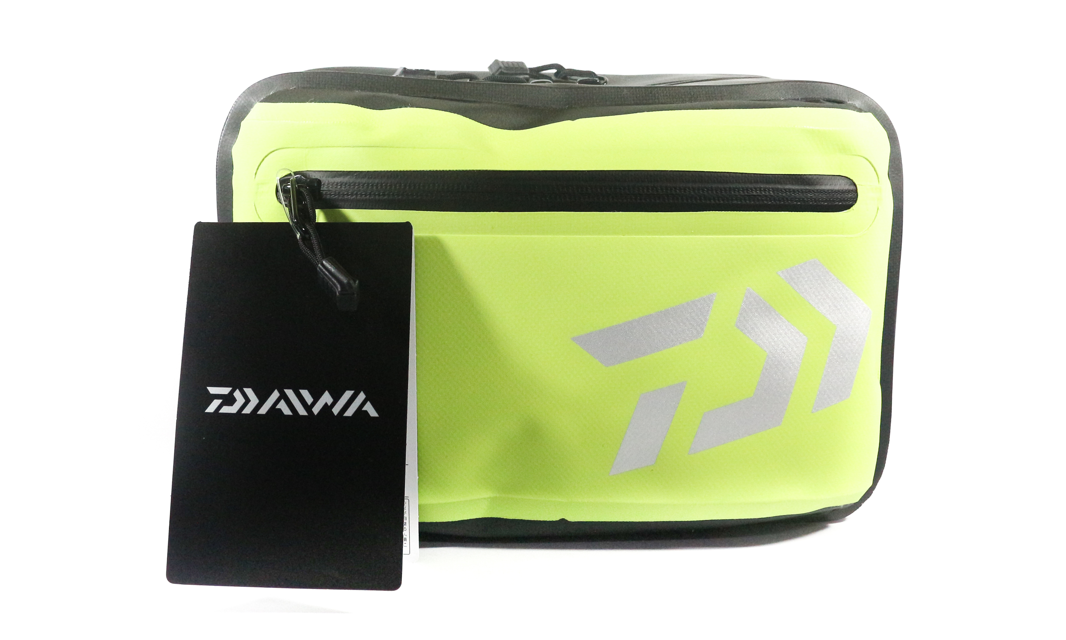 Sale Daiwa Tarpauline Hip Bag 15 x 28 x 21 cm Lime 091466